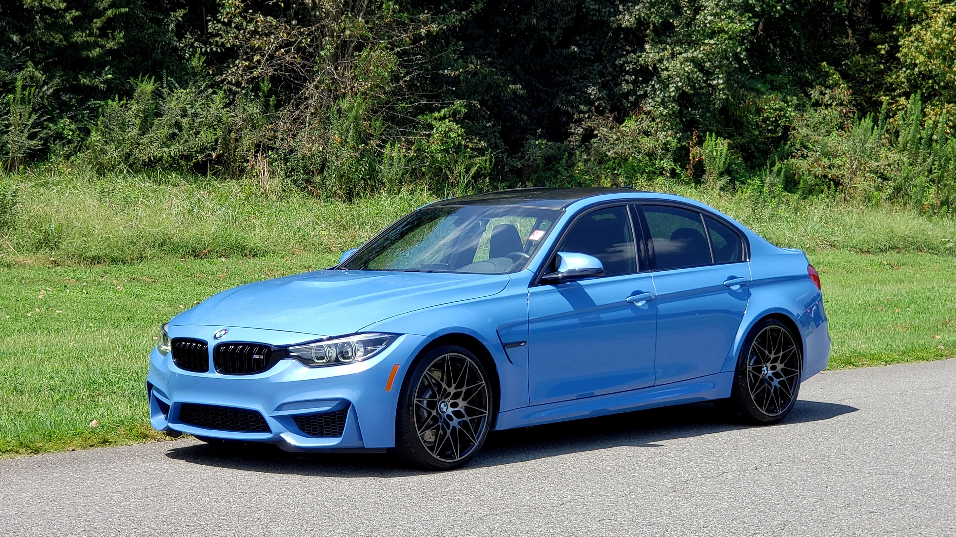 Used 2018 BMW M3 COMPETITION PKG / 6-SPD MANUAL / NAV / CARBON FIBER ROOF / REARVIEW for sale Sold at Formula Imports in Charlotte NC 28227 37