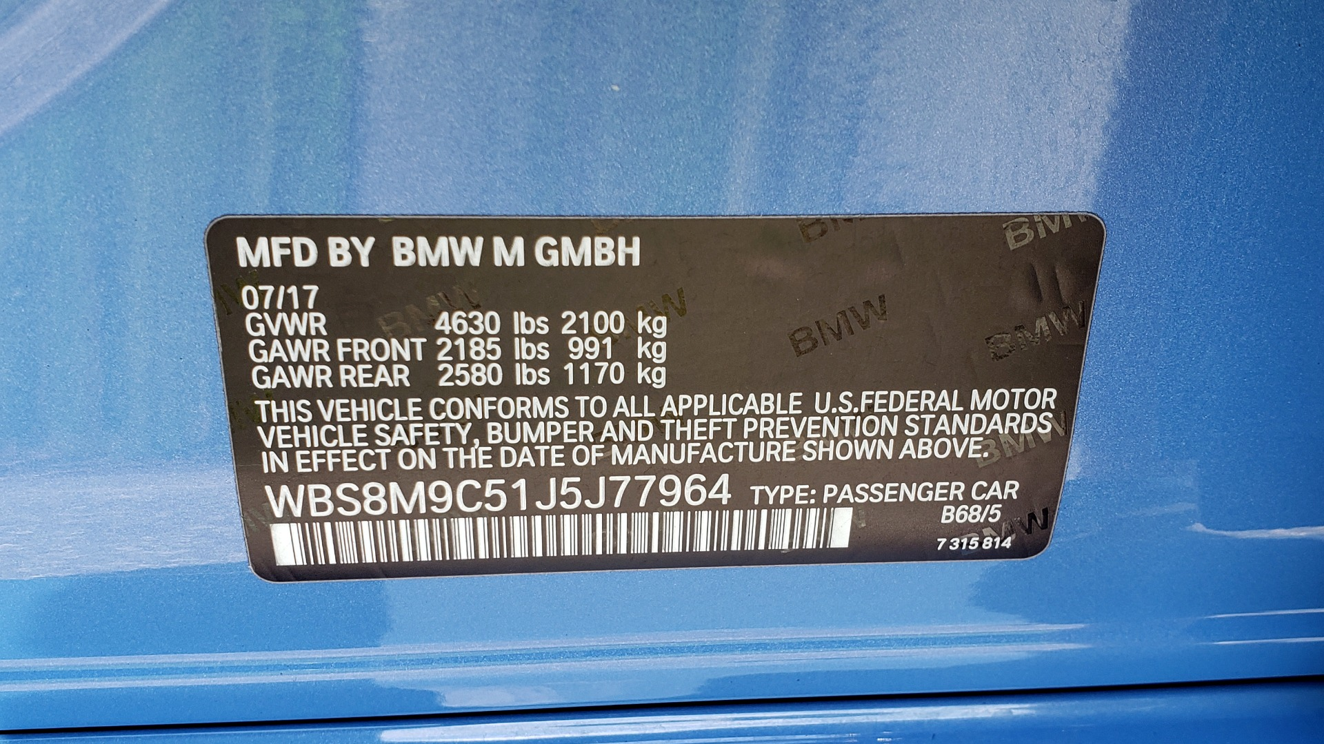 Used 2018 BMW M3 COMPETITION PKG / 6-SPD MANUAL / NAV / CARBON FIBER ROOF / REARVIEW for sale Sold at Formula Imports in Charlotte NC 28227 91