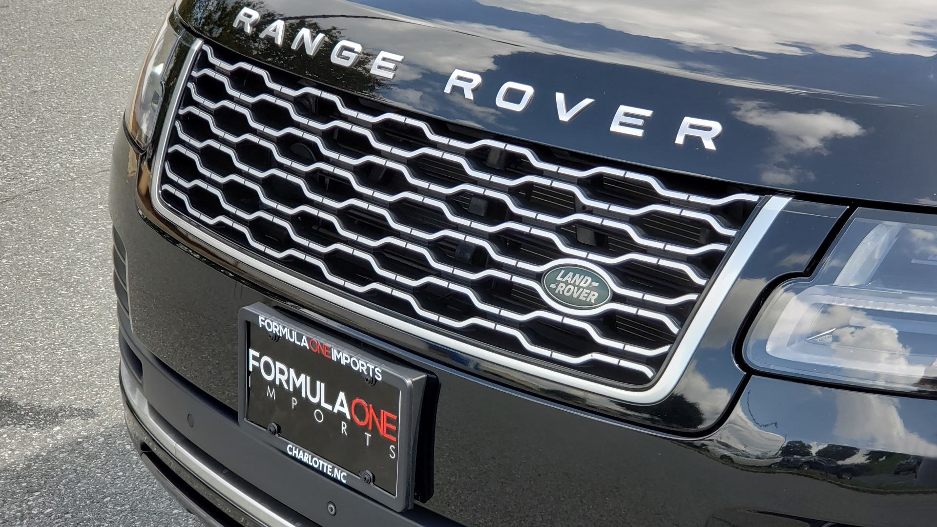 Used 2019 Land Rover RANGE ROVER SCV8 / NAV / PANO-ROOF / MERIDIAN / REARVIEW for sale Sold at Formula Imports in Charlotte NC 28227 36