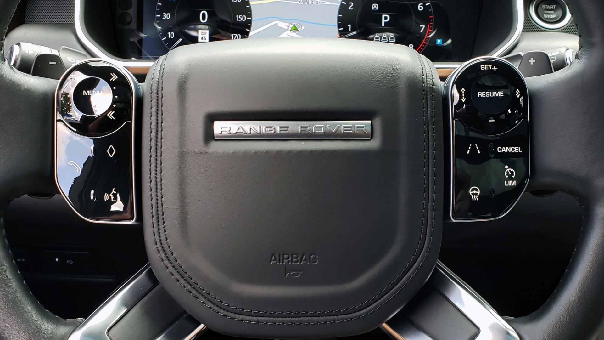 Used 2019 Land Rover RANGE ROVER SCV8 / NAV / PANO-ROOF / MERIDIAN / REARVIEW for sale Sold at Formula Imports in Charlotte NC 28227 54