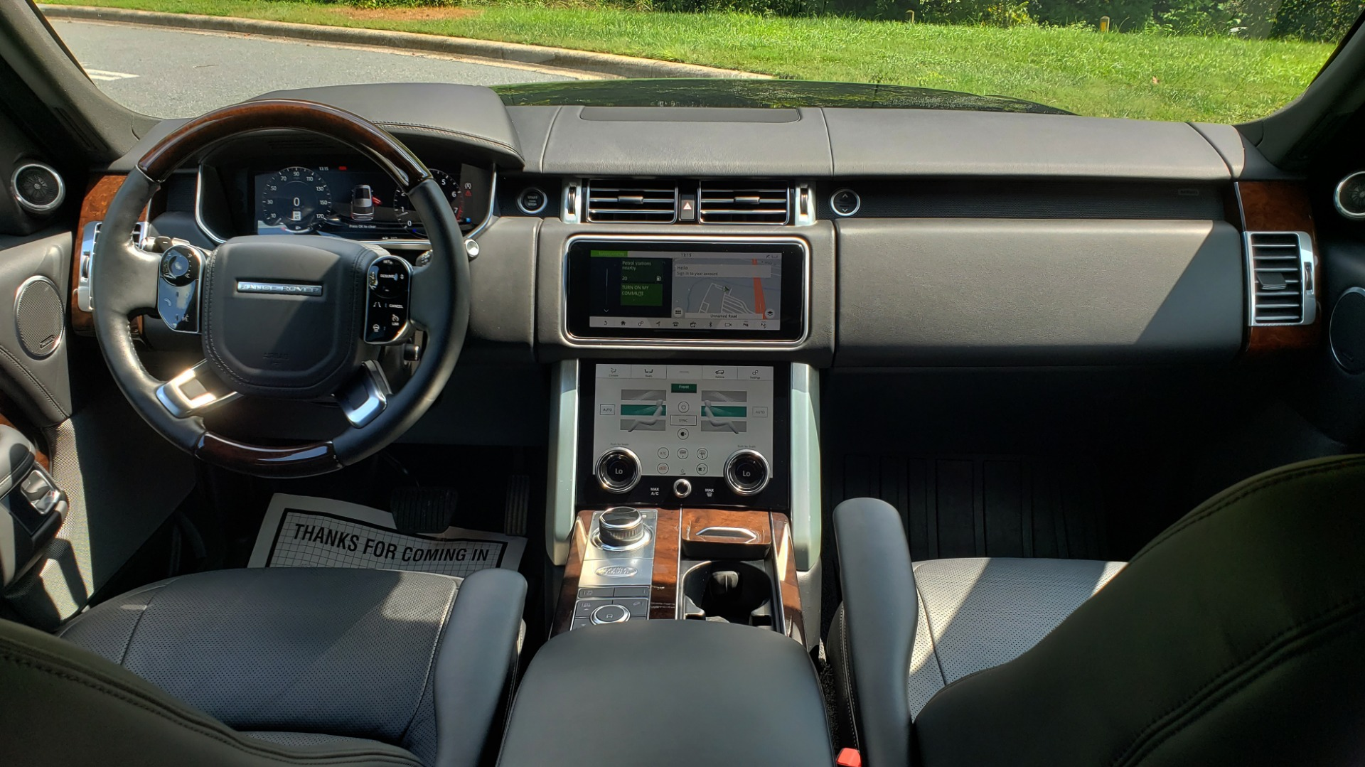 Used 2019 Land Rover RANGE ROVER SCV8 / NAV / PANO-ROOF / MERIDIAN / REARVIEW for sale Sold at Formula Imports in Charlotte NC 28227 94