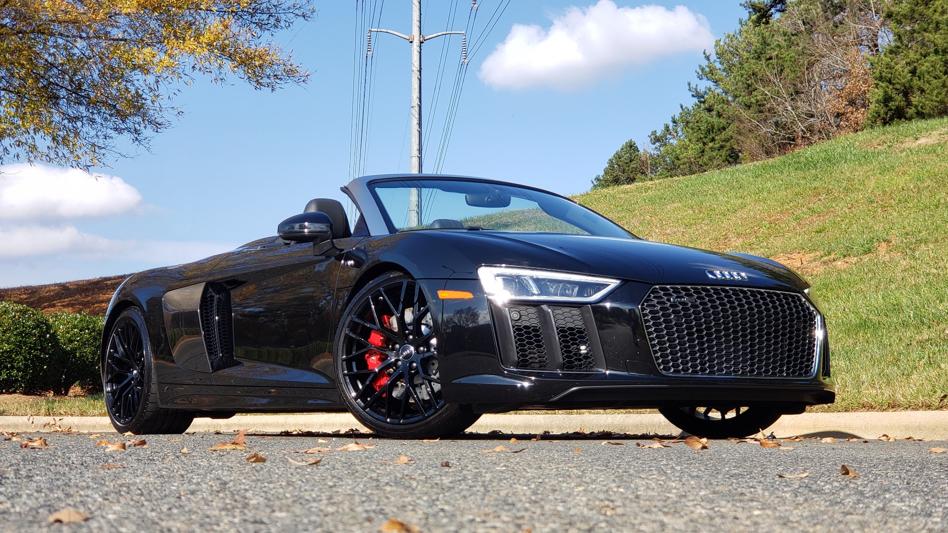 Used 2017 Audi R8 SPYDER V10 S-TRONIC / CARBON EXT & INT PKG / NAV / REARVIEW for sale Sold at Formula Imports in Charlotte NC 28227 12