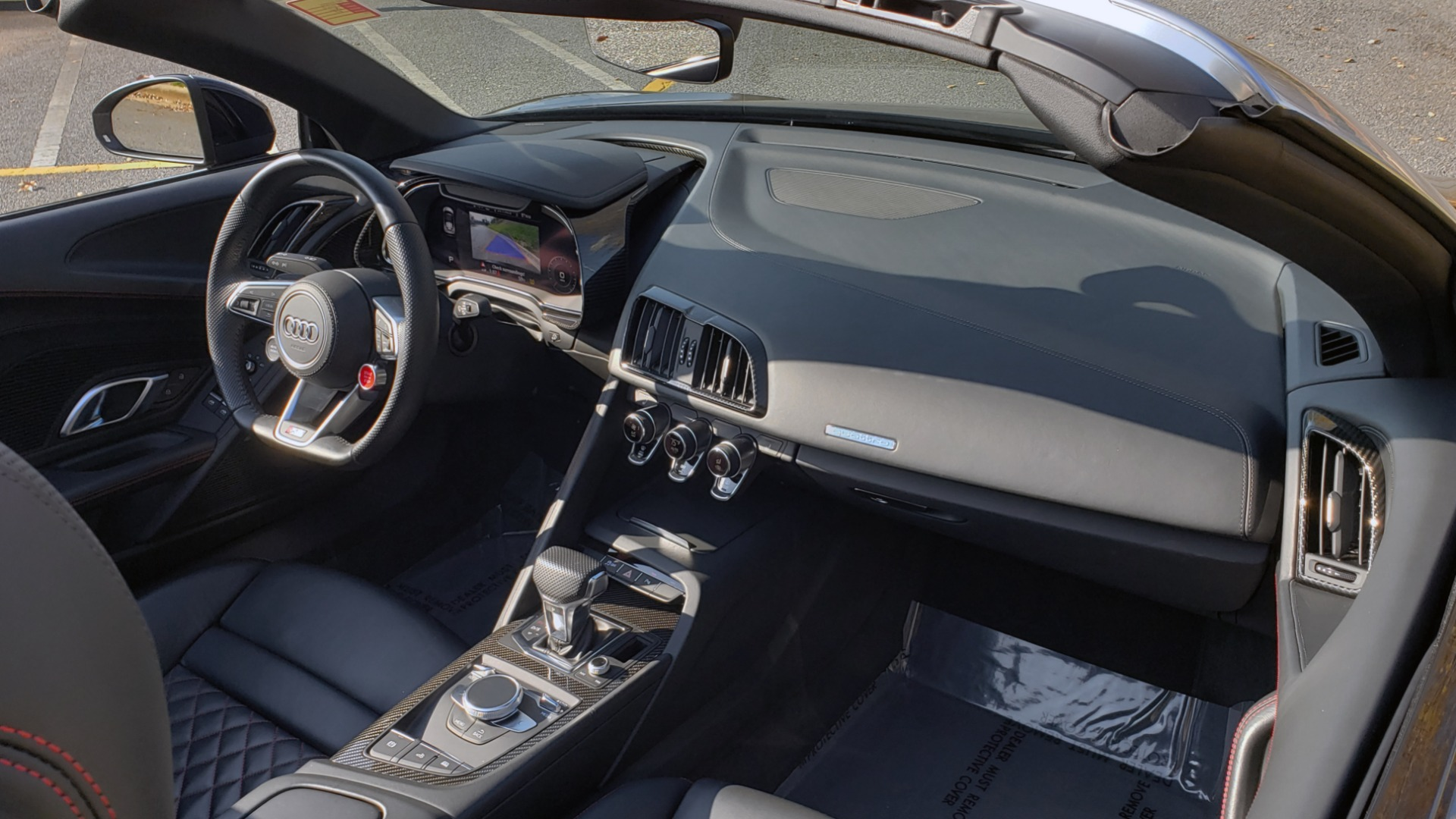 Used 2017 Audi R8 SPYDER V10 S-TRONIC / CARBON EXT & INT PKG / NAV / REARVIEW for sale Sold at Formula Imports in Charlotte NC 28227 20
