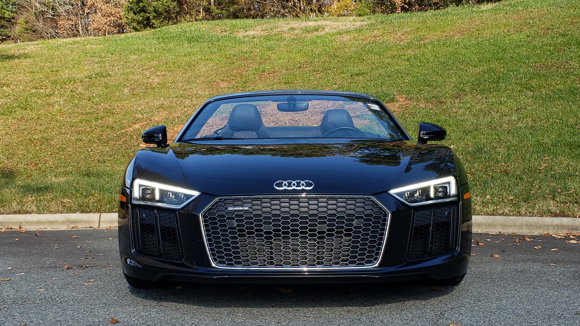 Used 2017 Audi R8 SPYDER V10 S-TRONIC / CARBON EXT & INT PKG / NAV / REARVIEW for sale Sold at Formula Imports in Charlotte NC 28227 49