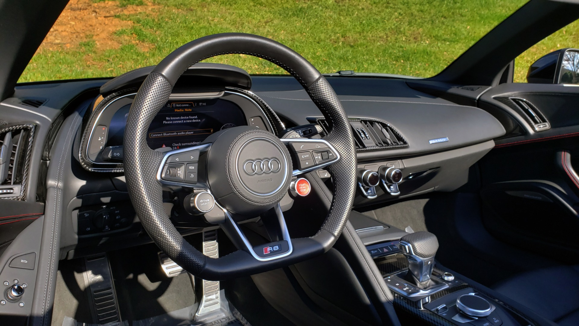 Used 2017 Audi R8 SPYDER V10 S-TRONIC / CARBON EXT & INT PKG / NAV / REARVIEW for sale Sold at Formula Imports in Charlotte NC 28227 68