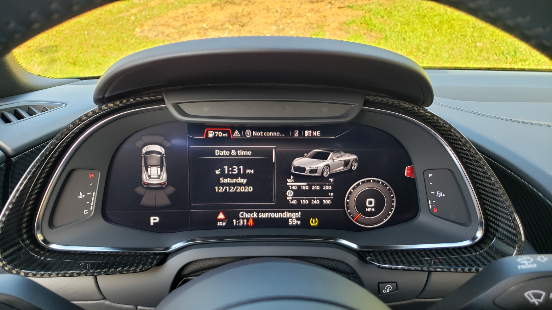 Used 2017 Audi R8 SPYDER V10 S-TRONIC / CARBON EXT & INT PKG / NAV / REARVIEW for sale Sold at Formula Imports in Charlotte NC 28227 78