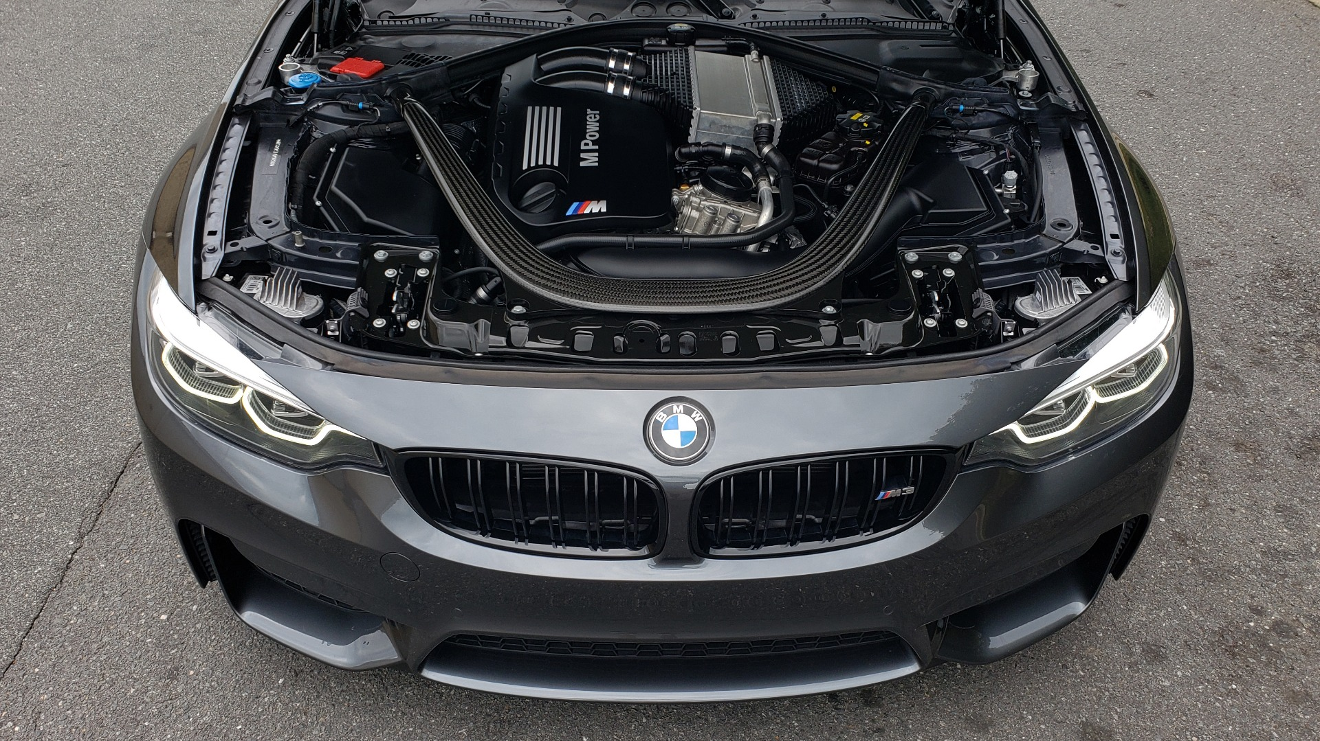 Used 2018 BMW M3 COMPETITION PKG / EXEC PKG / DRVR ASST / BSD / SUNROOF for sale Sold at Formula Imports in Charlotte NC 28227 14