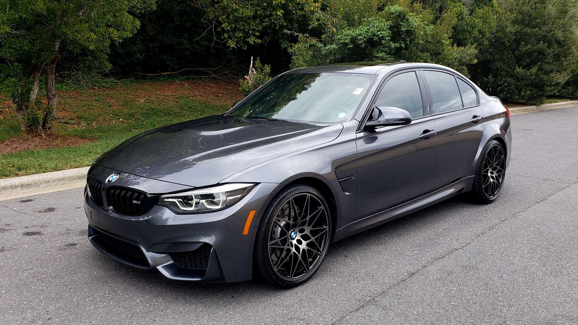 Used 2018 BMW M3 COMPETITION PKG / EXEC PKG / DRVR ASST / BSD / SUNROOF for sale Sold at Formula Imports in Charlotte NC 28227 3