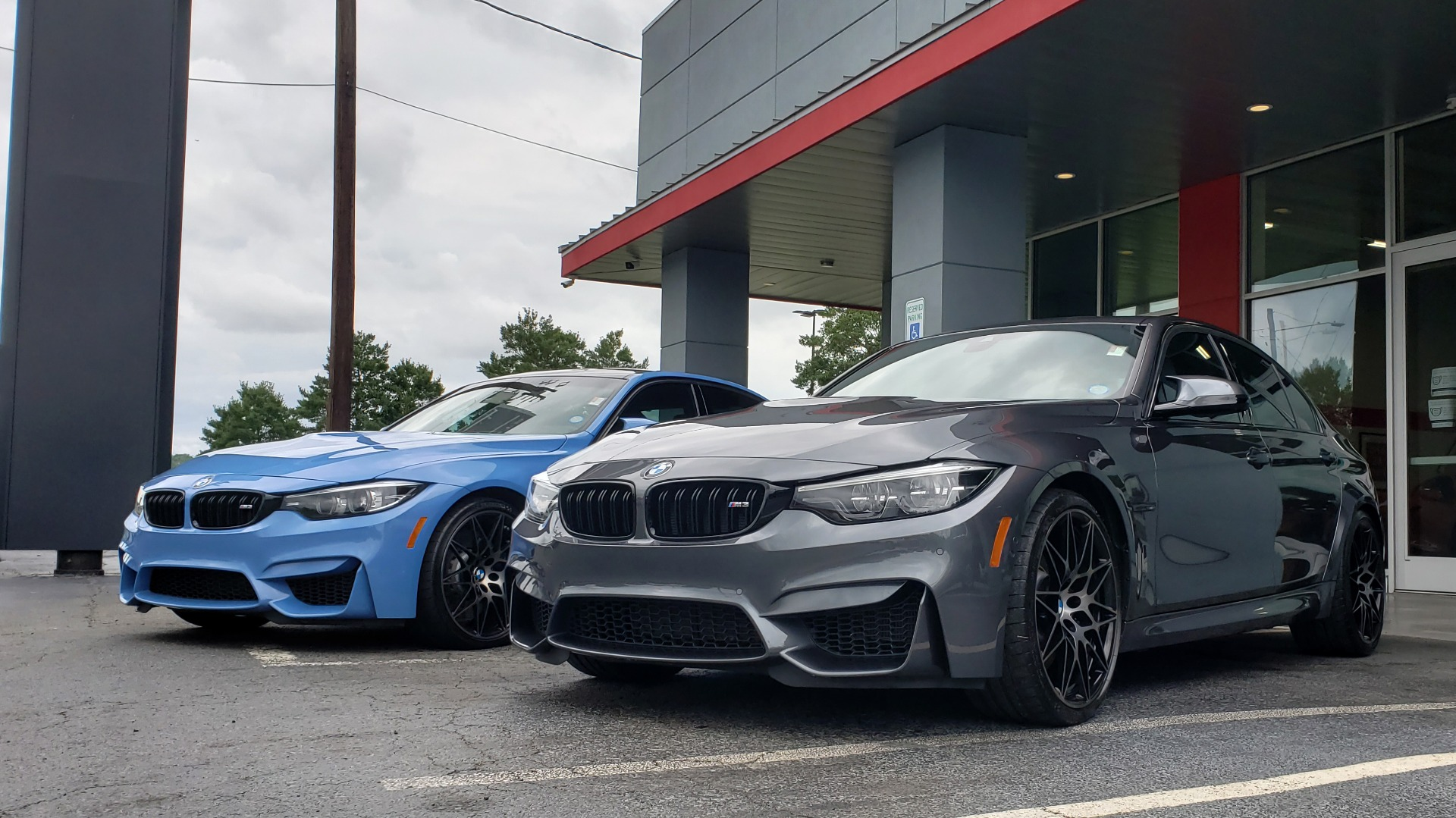 Used 2018 BMW M3 COMPETITION PKG / EXEC PKG / DRVR ASST / BSD / SUNROOF for sale Sold at Formula Imports in Charlotte NC 28227 98