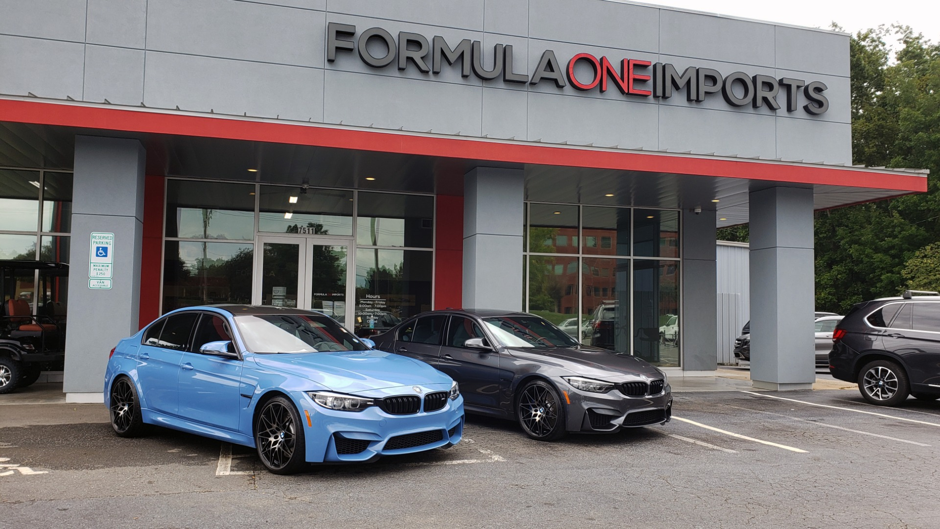 Used 2018 BMW M3 COMPETITION PKG / EXEC PKG / DRVR ASST / BSD / SUNROOF for sale Sold at Formula Imports in Charlotte NC 28227 99