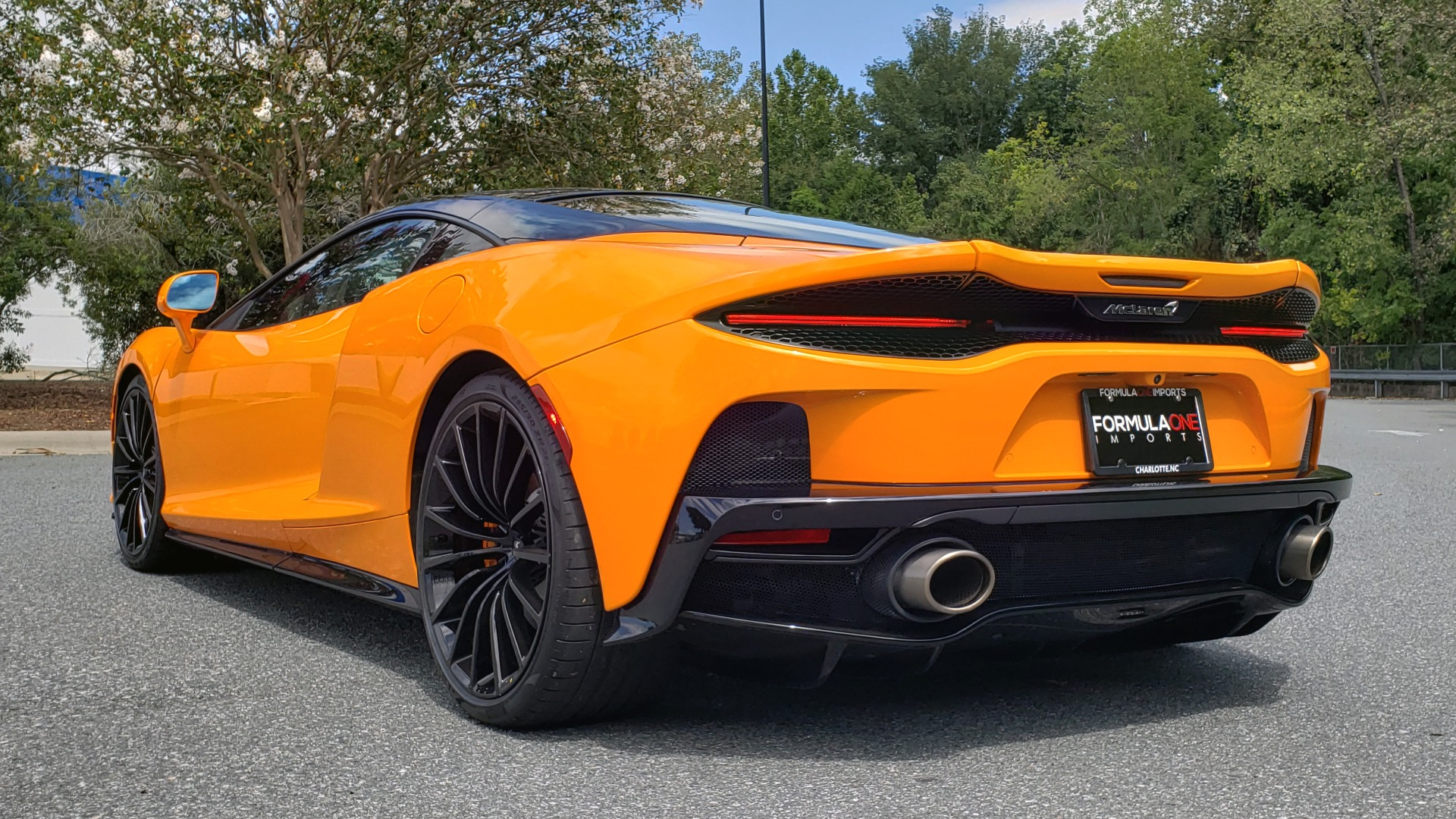 Used 2020 McLaren GT COUPE / 4.0L V8 - 612HP / RWD / NAV / REARVIEW / 20IN BLACK WHEELS for sale $244,000 at Formula Imports in Charlotte NC 28227 9