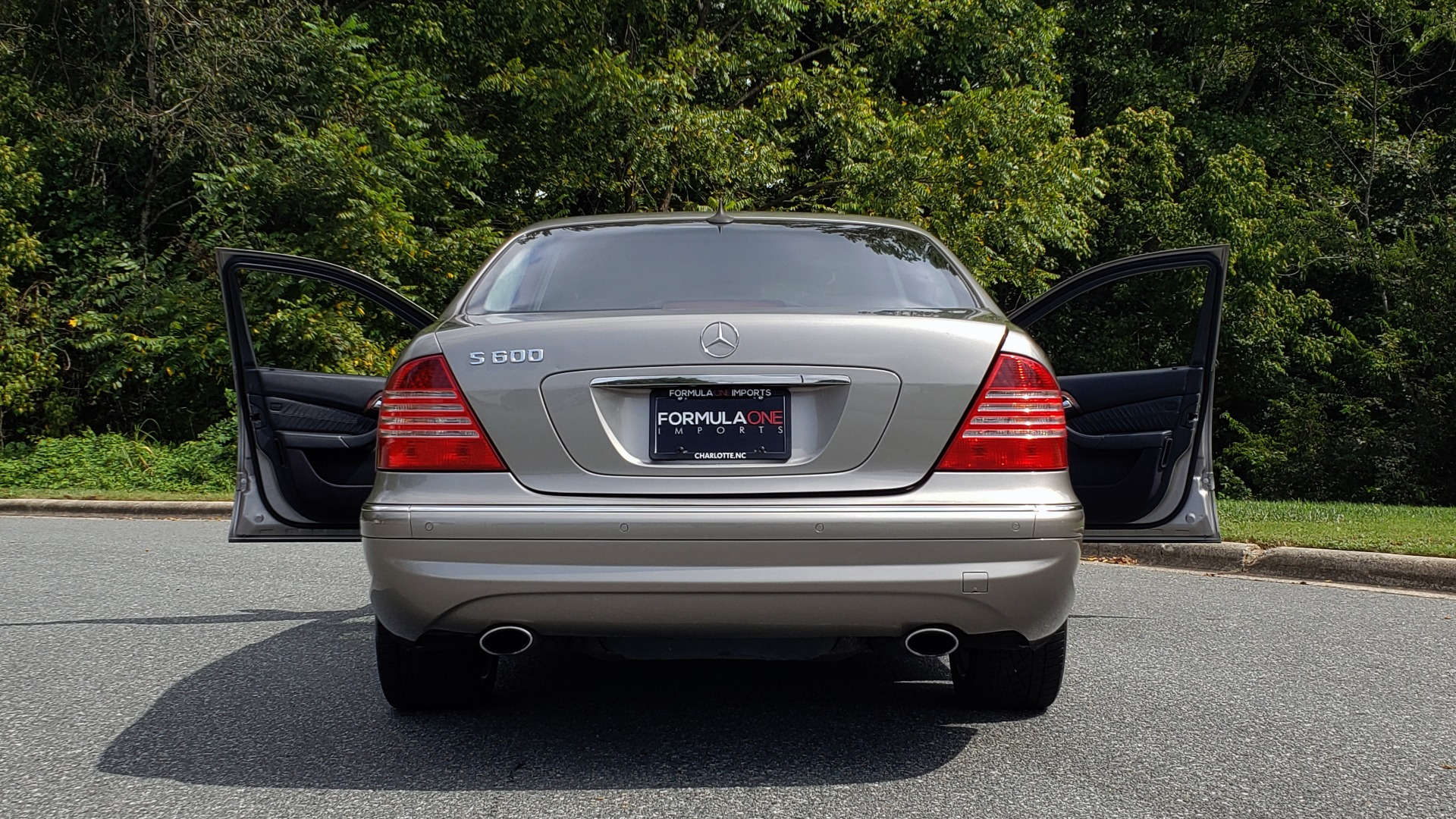 Used 2003 Mercedes-Benz S-CLASS S600 5.5L V12 SEDAN / SUNROOF / KEYLESS-GO / BOSE for sale Sold at Formula Imports in Charlotte NC 28227 25