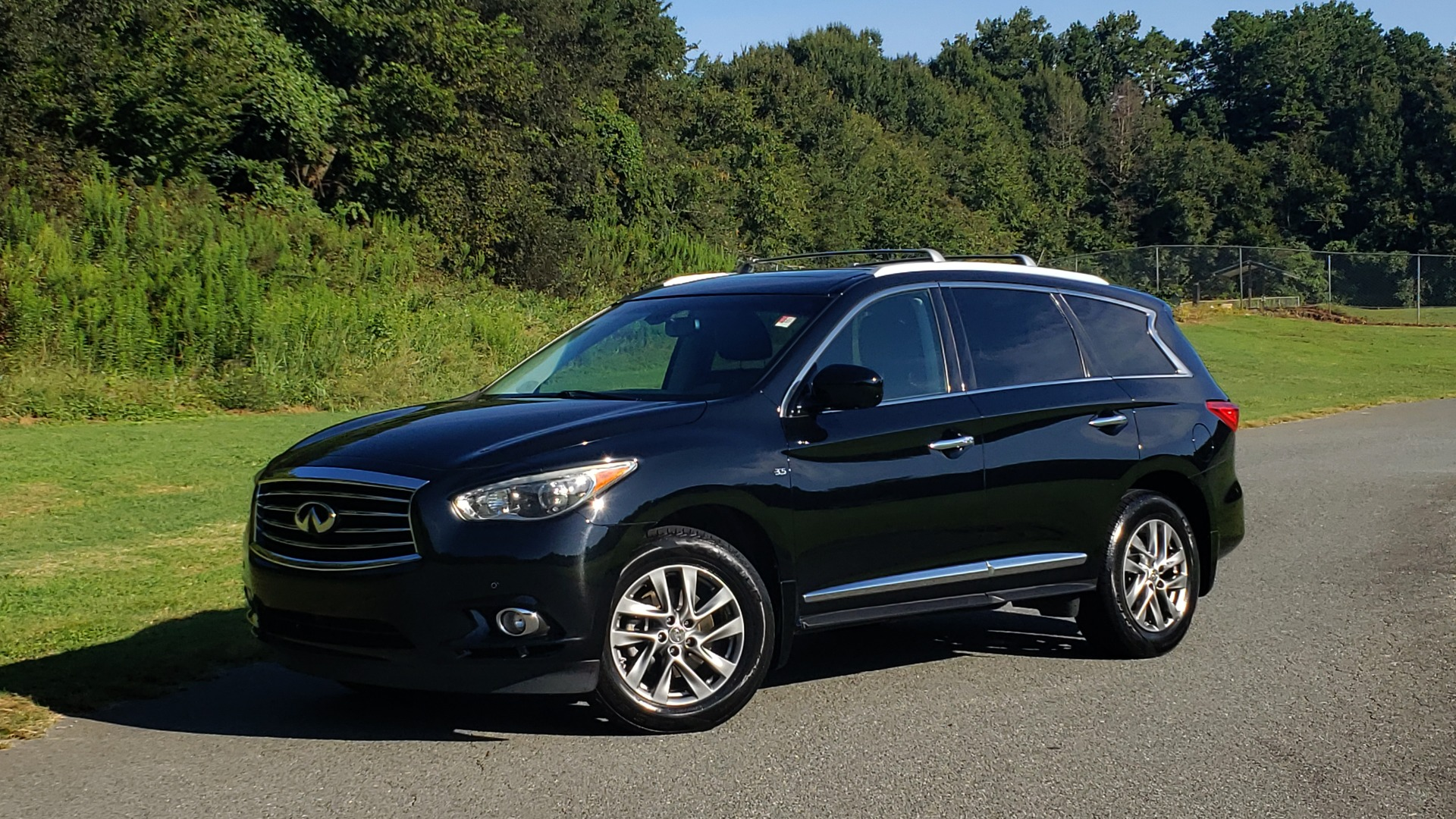 Used 2015 INFINITI QX60 AWD / PREM PLUS PKG / NAV / SUNROOF / BOSE / 3-ROW / REARVIEW for sale $19,695 at Formula Imports in Charlotte NC 28227 2