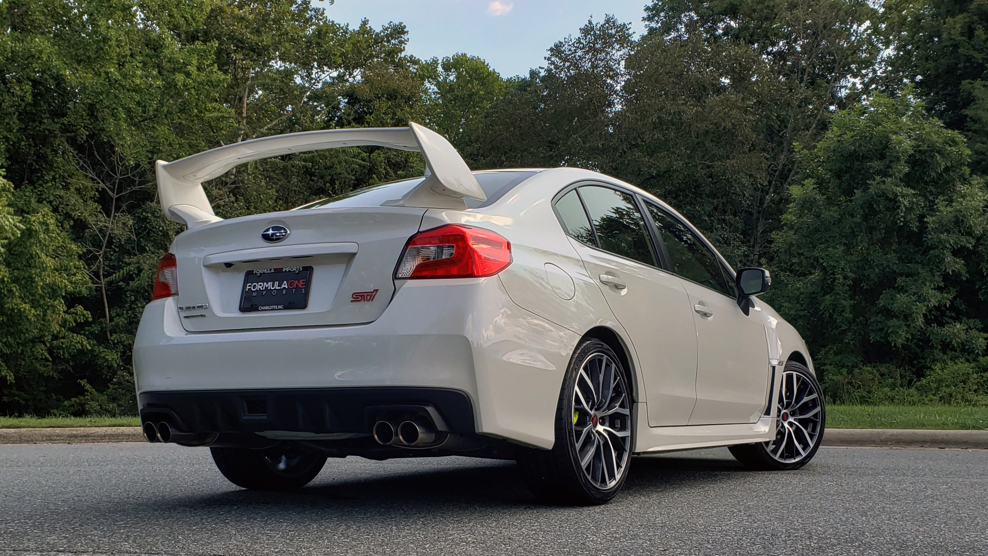 Used 2020 Subaru WRX STI SEDAN / 6-SPD MANUAL / RECARO SEATS / REARVIEW for sale Sold at Formula Imports in Charlotte NC 28227 2