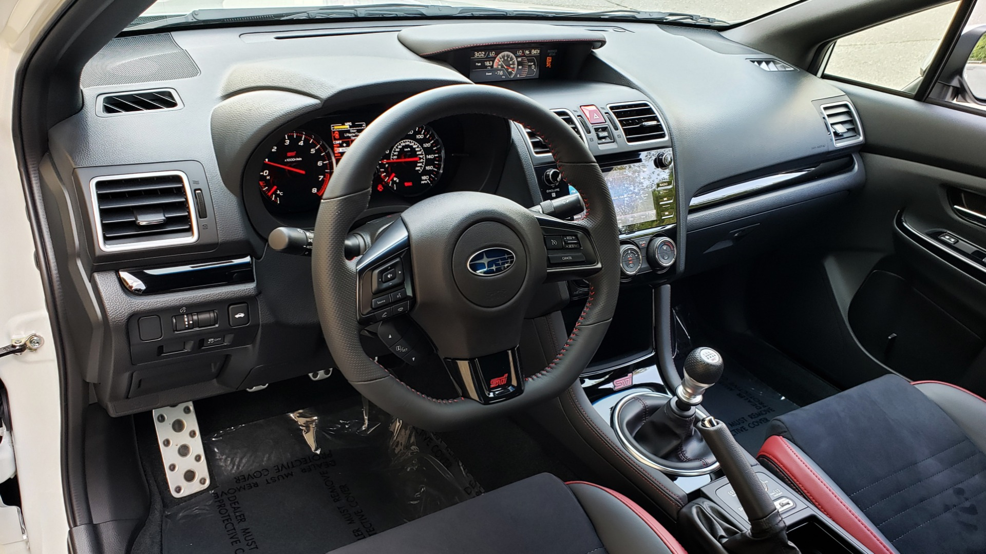 Used 2020 Subaru WRX STI SEDAN / 6-SPD MANUAL / RECARO SEATS / REARVIEW for sale Sold at Formula Imports in Charlotte NC 28227 42