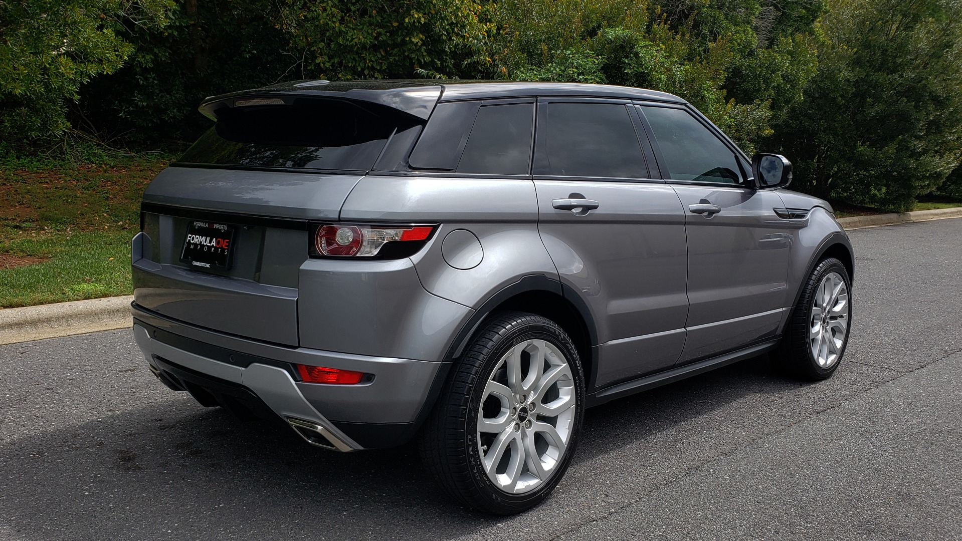 Used 2013 Land Rover RANGE ROVER EVOQUE DYNAMIC PREMIUM / NAV / PANO-ROOF / BLIND SPOT / REARVIEW for sale Sold at Formula Imports in Charlotte NC 28227 8