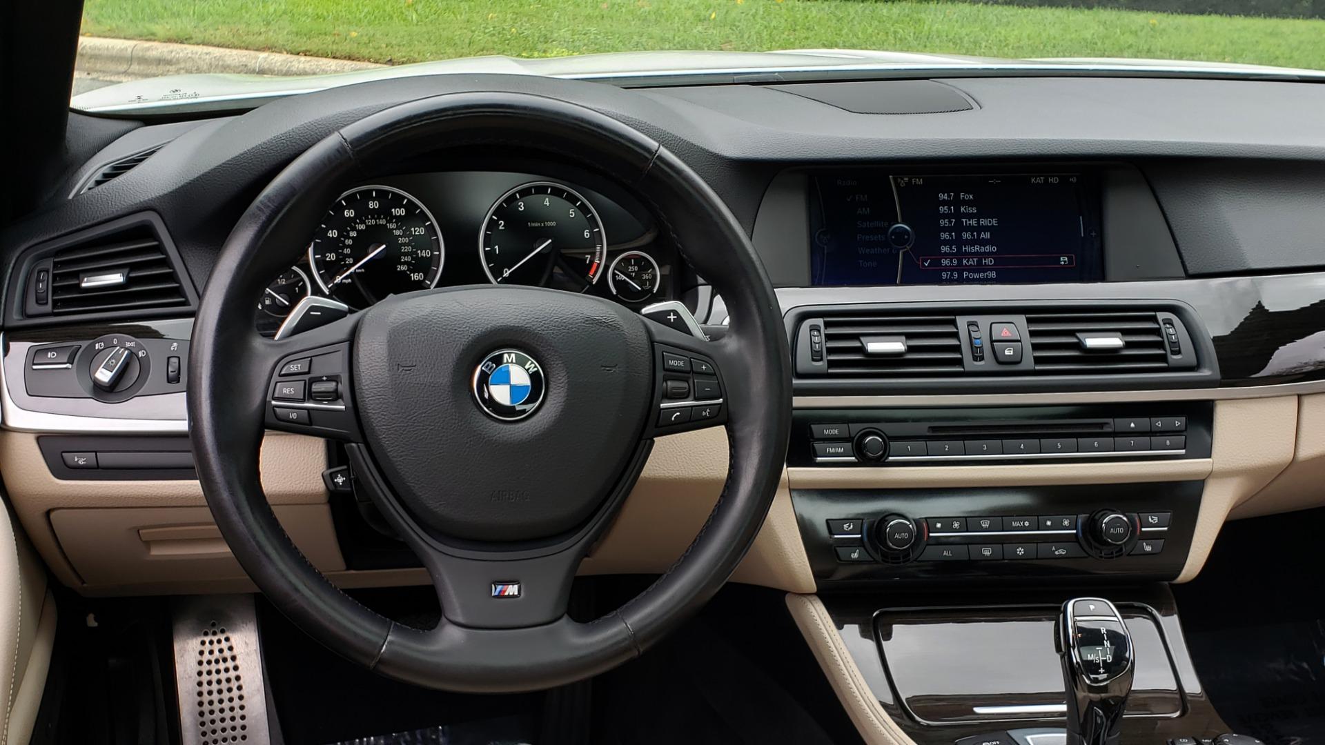 Used 2012 BMW 5 SERIES 550I M SPORT / NAV / CONV PKG / SUNROOF / PREM SND / REARVIEW for sale Sold at Formula Imports in Charlotte NC 28227 28