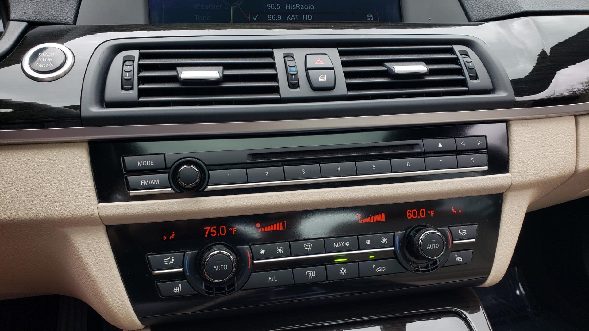 Used 2012 BMW 5 SERIES 550I M SPORT / NAV / CONV PKG / SUNROOF / PREM SND / REARVIEW for sale Sold at Formula Imports in Charlotte NC 28227 38