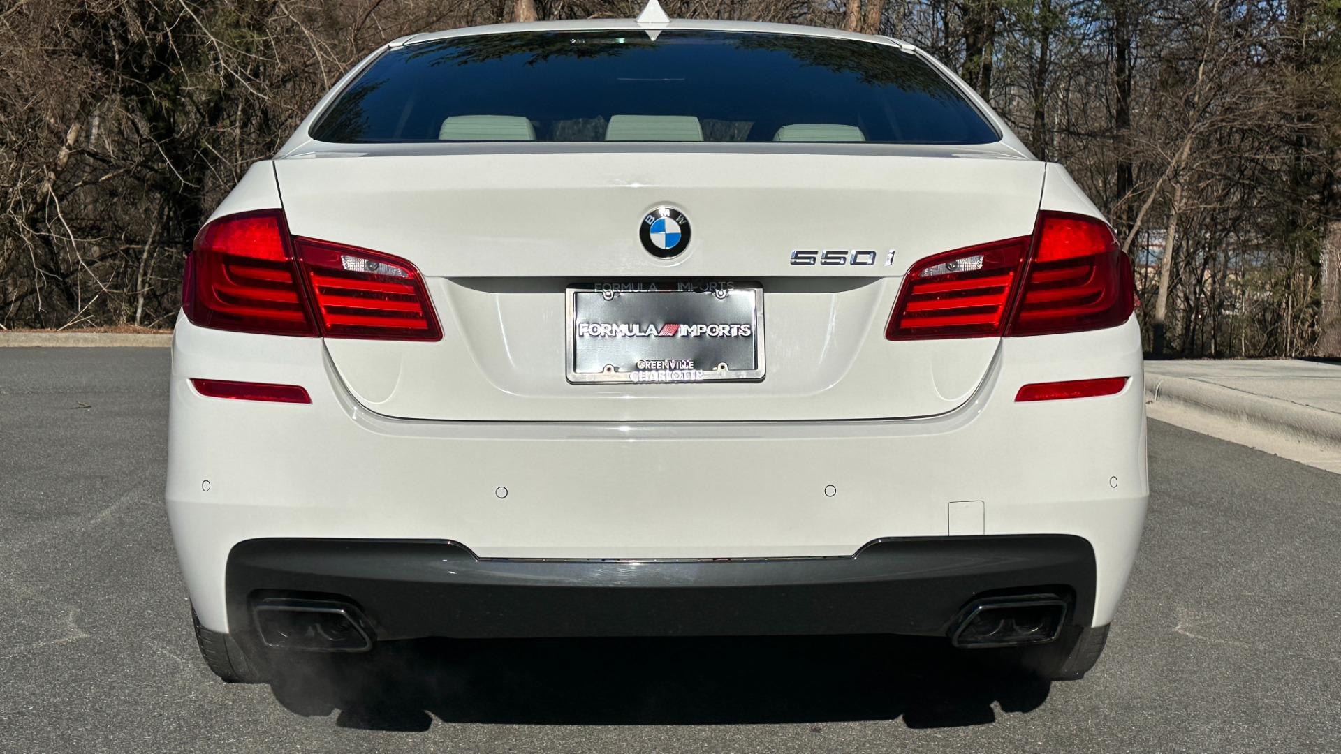 Used 2012 BMW 5 SERIES 550I M SPORT / NAV / CONV PKG / SUNROOF / PREM SND / REARVIEW for sale Sold at Formula Imports in Charlotte NC 28227 6