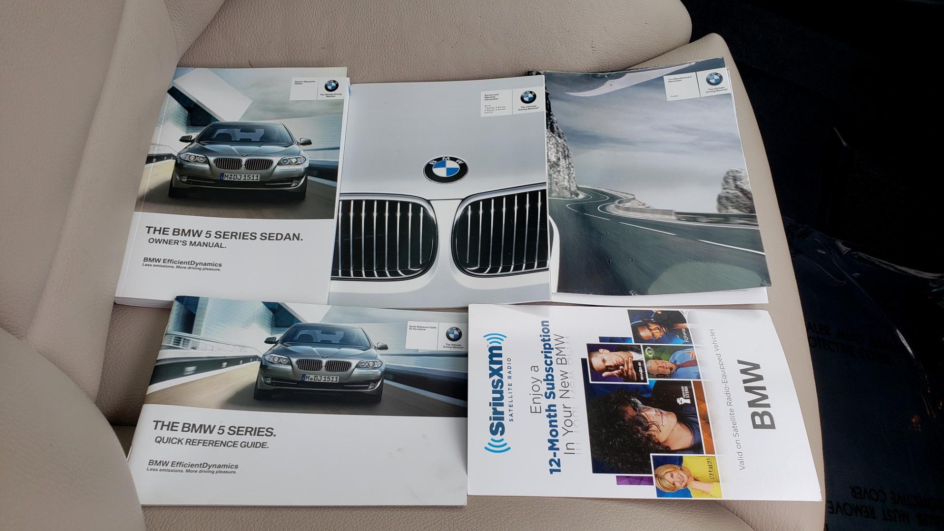 Used 2012 BMW 5 SERIES 550I M SPORT / NAV / CONV PKG / SUNROOF / PREM SND / REARVIEW for sale Sold at Formula Imports in Charlotte NC 28227 68