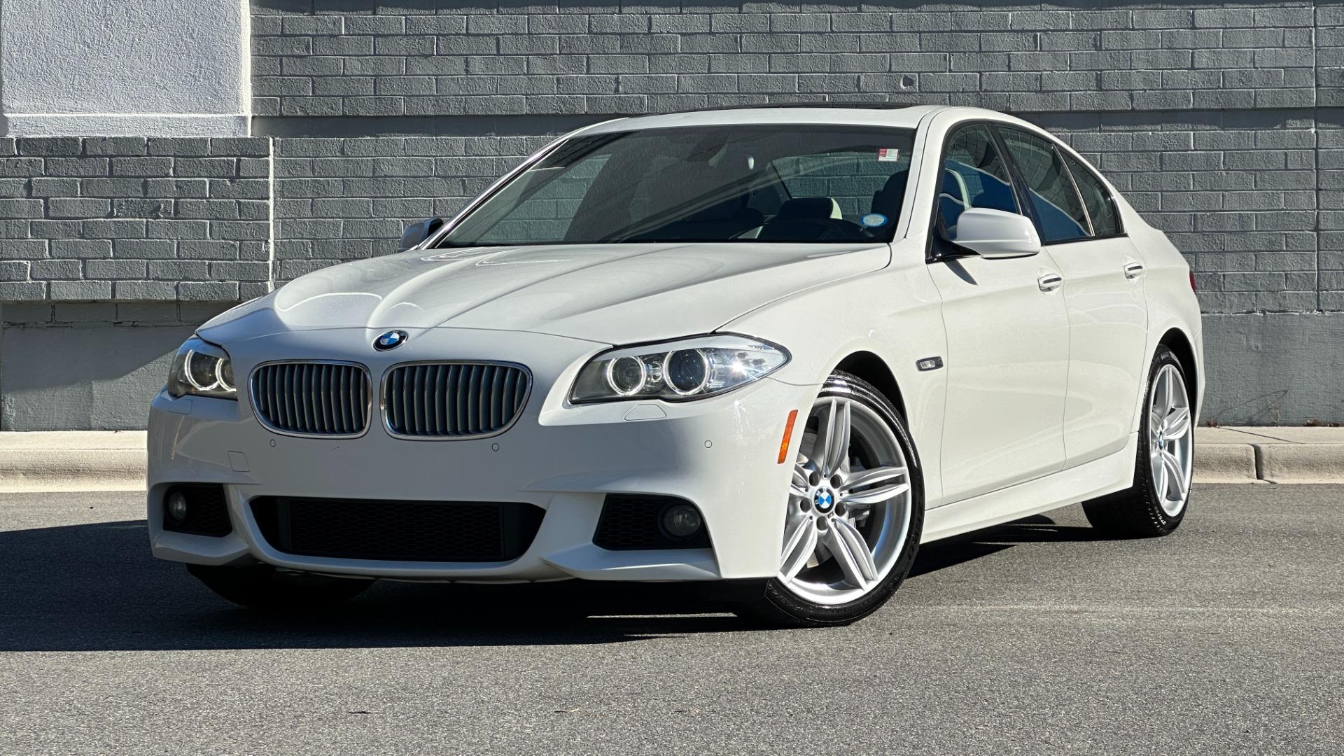 Used 2012 BMW 5 SERIES 550I M SPORT / NAV / CONV PKG / SUNROOF / PREM SND / REARVIEW for sale Sold at Formula Imports in Charlotte NC 28227 1