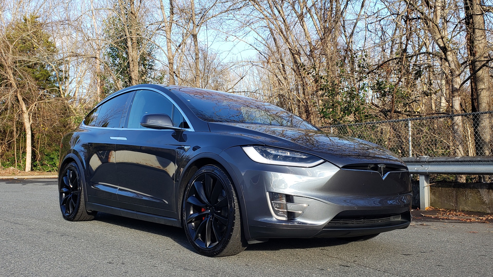 Used 2016 Tesla MODEL X P100D LUDICROUS PERF / PREM / TECH / AUTO PILOT / TOWING for sale Sold at Formula Imports in Charlotte NC 28227 9