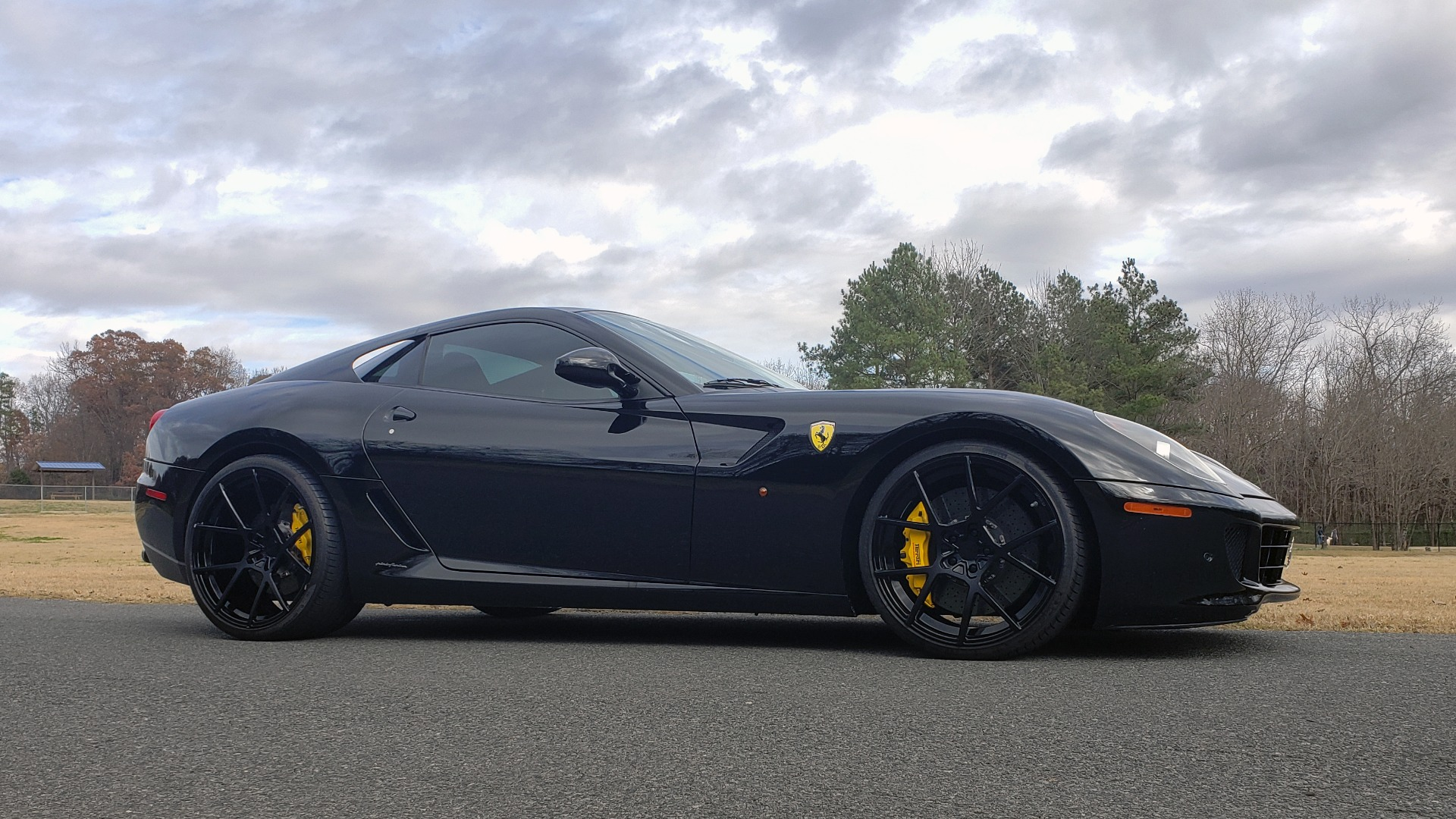 Used 2007 Ferrari 599 GTB FIORANO HGTE / V12 / F1 TRANS / NAV / BOSE / CUSTOM WHEELS for sale Sold at Formula Imports in Charlotte NC 28227 10