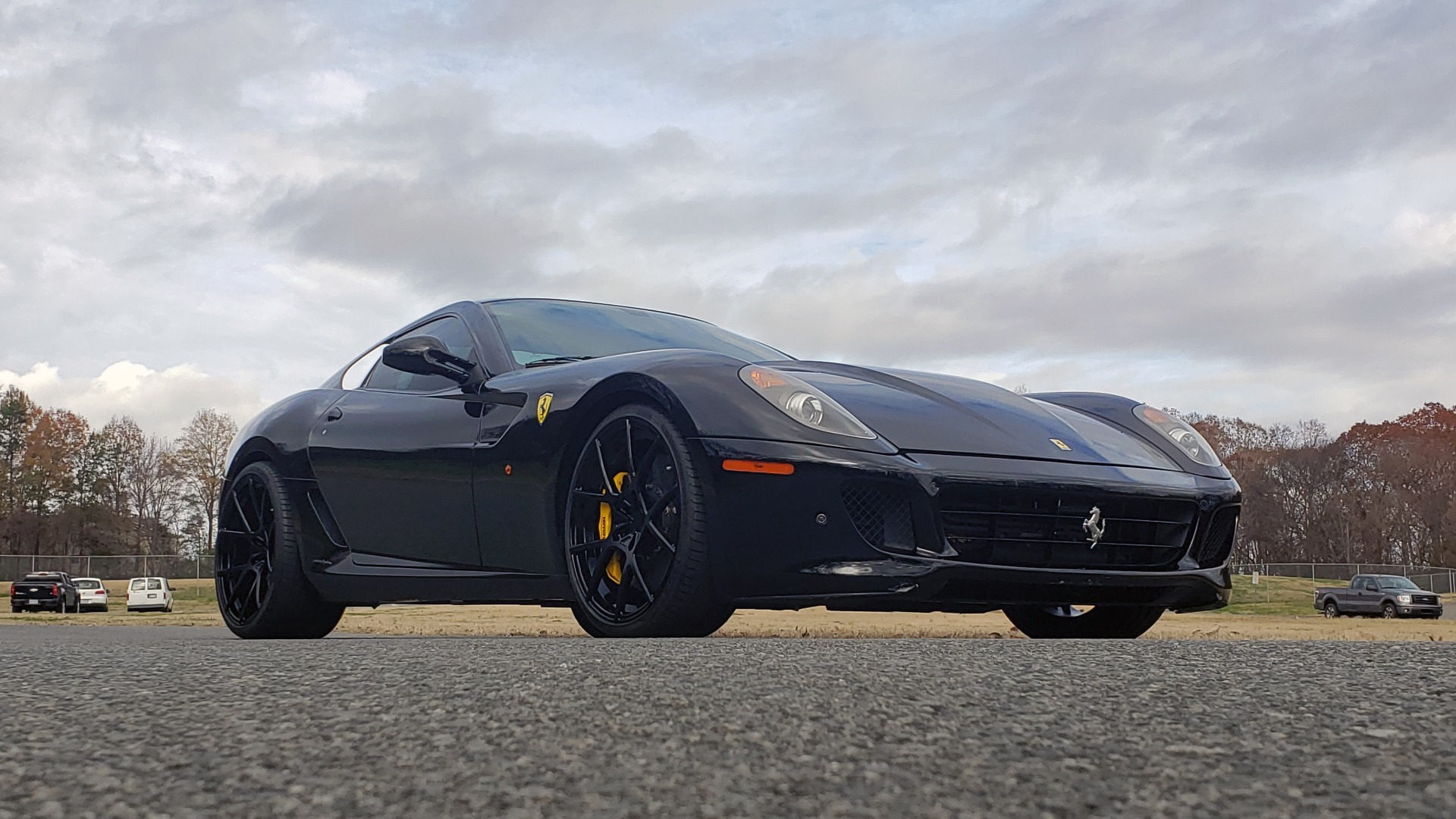 Used 2007 Ferrari 599 GTB FIORANO HGTE / V12 / F1 TRANS / NAV / BOSE / CUSTOM WHEELS for sale Sold at Formula Imports in Charlotte NC 28227 12