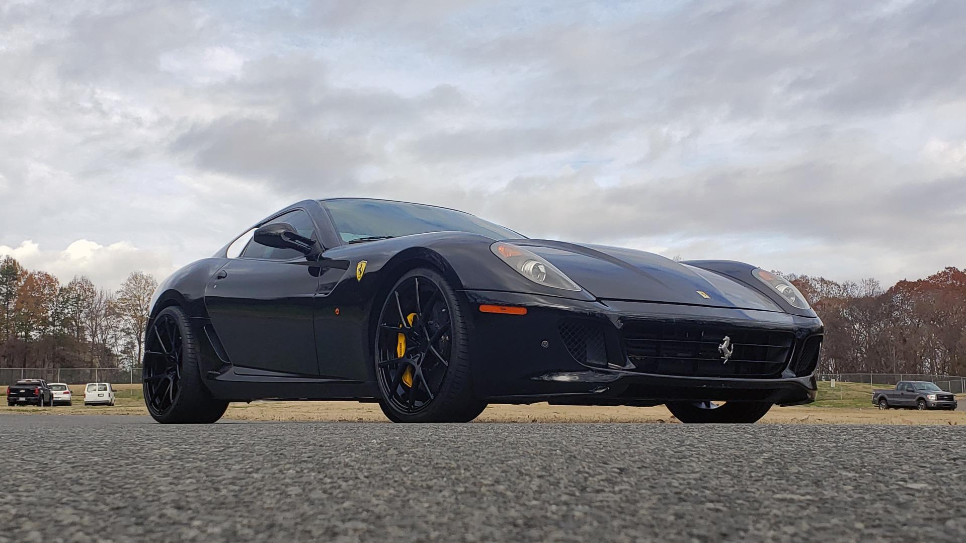 Used 2007 Ferrari 599 GTB FIORANO HGTE / V12 / F1 TRANS / NAV / BOSE / CUSTOM WHEELS for sale $109,999 at Formula Imports in Charlotte NC 28227 12