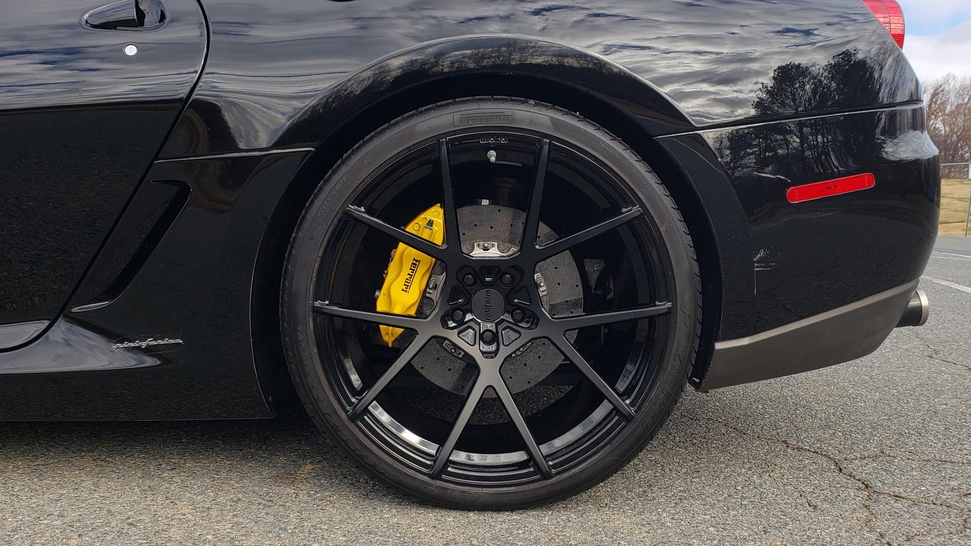 Used 2007 Ferrari 599 GTB FIORANO HGTE / V12 / F1 TRANS / NAV / BOSE / CUSTOM WHEELS for sale $109,999 at Formula Imports in Charlotte NC 28227 120