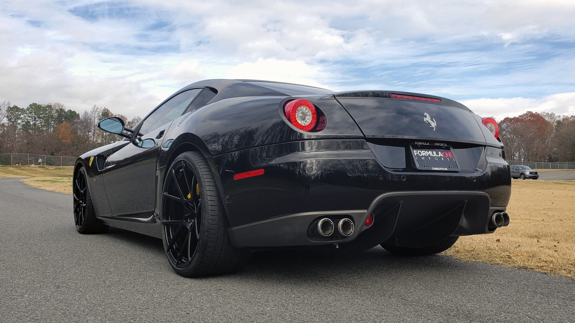 Used 2007 Ferrari 599 GTB FIORANO HGTE / V12 / F1 TRANS / NAV / BOSE / CUSTOM WHEELS for sale Sold at Formula Imports in Charlotte NC 28227 3