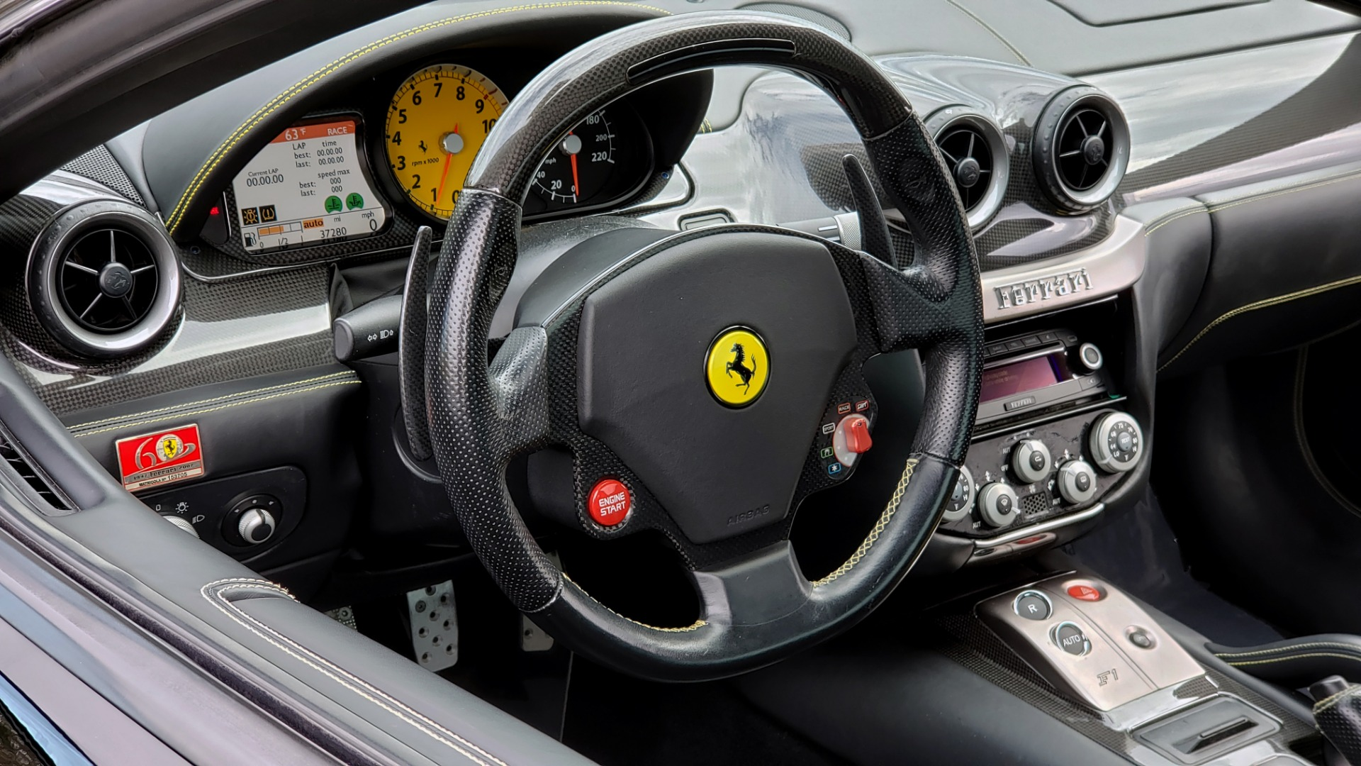 Used 2007 Ferrari 599 GTB FIORANO HGTE / V12 / F1 TRANS / NAV / BOSE / CUSTOM WHEELS for sale $109,999 at Formula Imports in Charlotte NC 28227 47