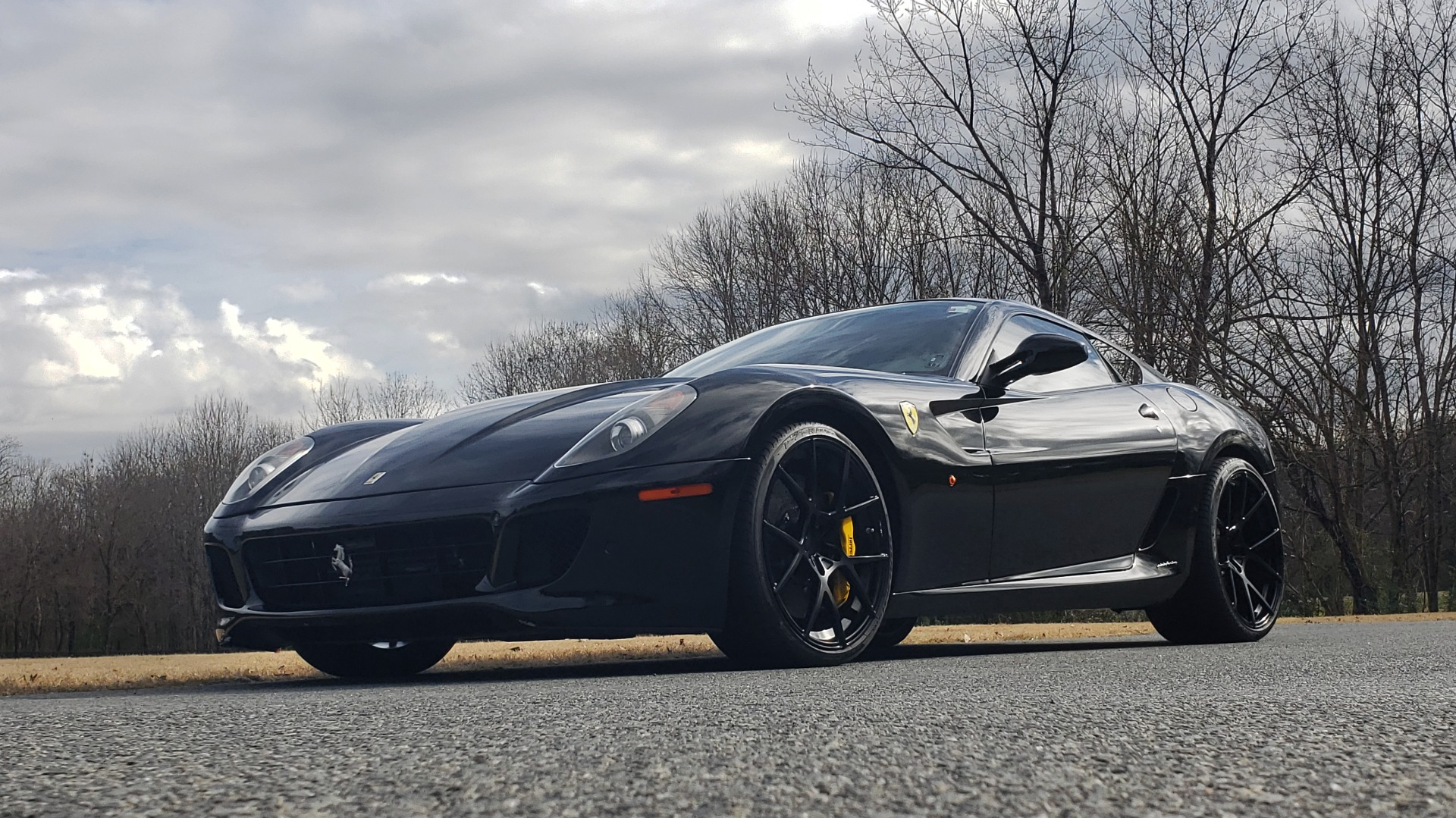 Used 2007 Ferrari 599 GTB FIORANO HGTE / V12 / F1 TRANS / NAV / BOSE / CUSTOM WHEELS for sale Sold at Formula Imports in Charlotte NC 28227 5