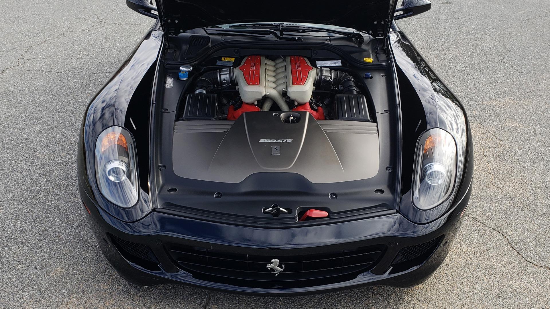Used 2007 Ferrari 599 GTB FIORANO HGTE / V12 / F1 TRANS / NAV / BOSE / CUSTOM WHEELS for sale $109,999 at Formula Imports in Charlotte NC 28227 56