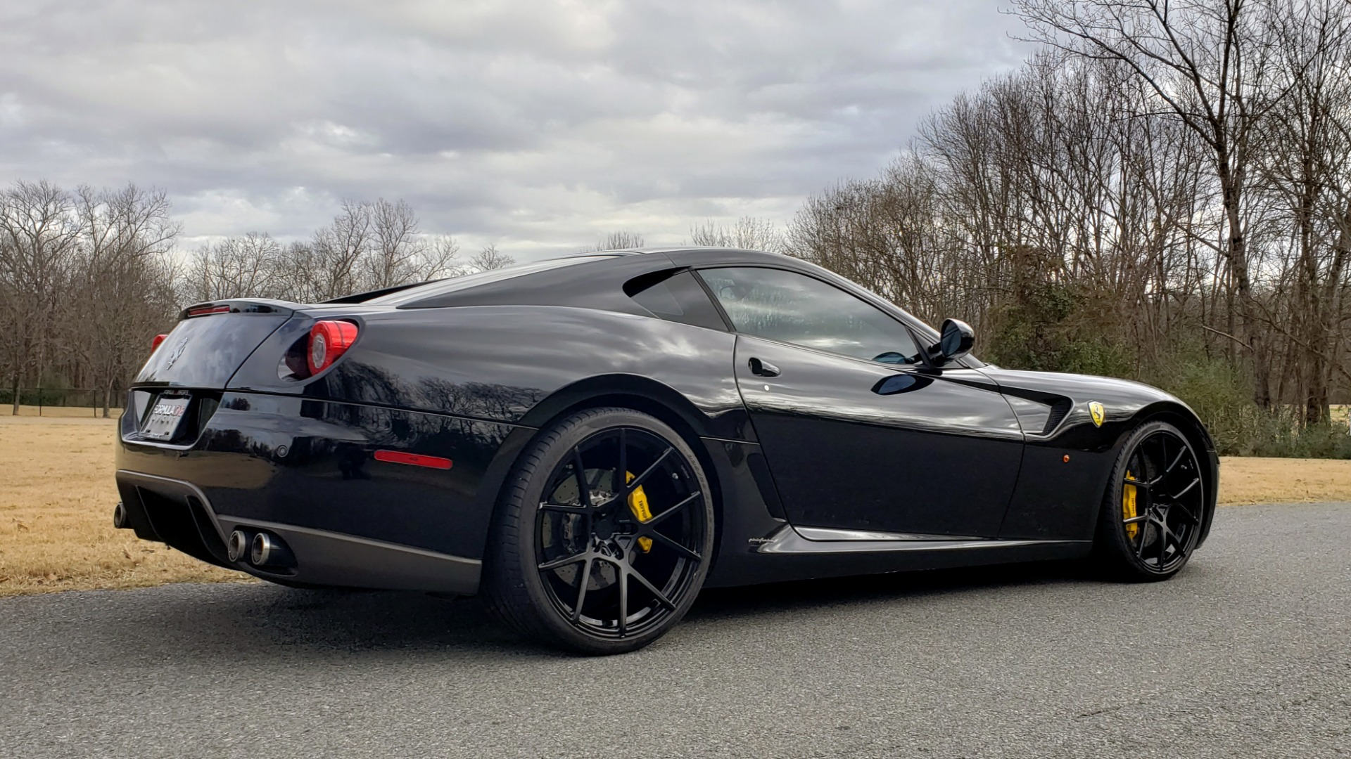 Used 2007 Ferrari 599 GTB FIORANO HGTE / V12 / F1 TRANS / NAV / BOSE / CUSTOM WHEELS for sale Sold at Formula Imports in Charlotte NC 28227 6