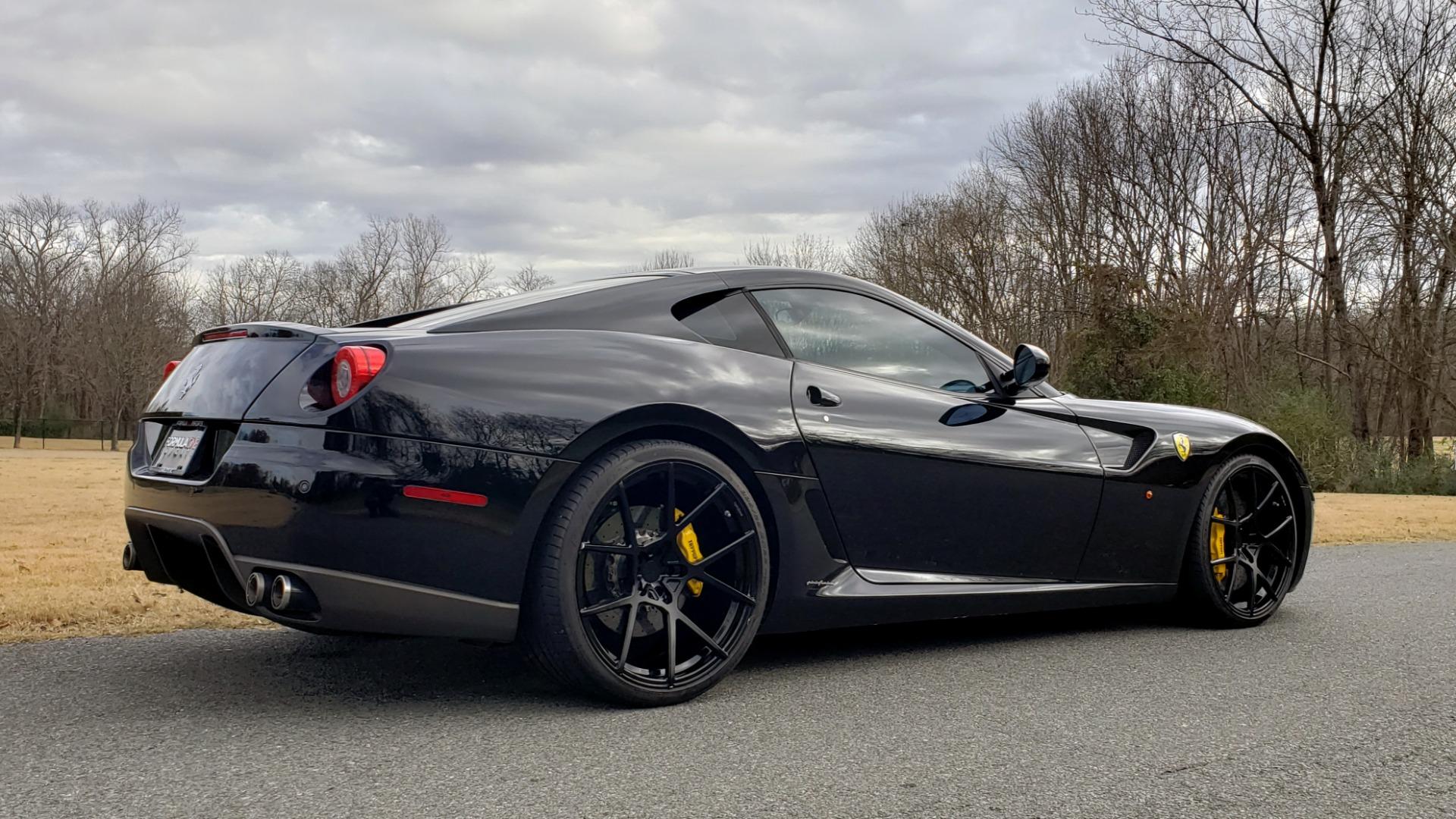Used 2007 Ferrari 599 GTB FIORANO HGTE / V12 / F1 TRANS / NAV / BOSE / CUSTOM WHEELS for sale $109,999 at Formula Imports in Charlotte NC 28227 6