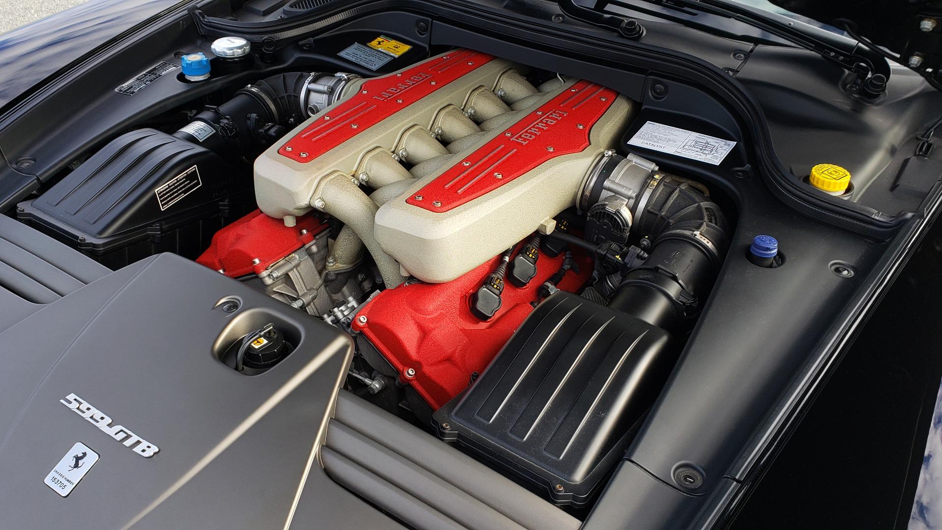 Used 2007 Ferrari 599 GTB FIORANO HGTE / V12 / F1 TRANS / NAV / BOSE / CUSTOM WHEELS for sale $109,999 at Formula Imports in Charlotte NC 28227 60
