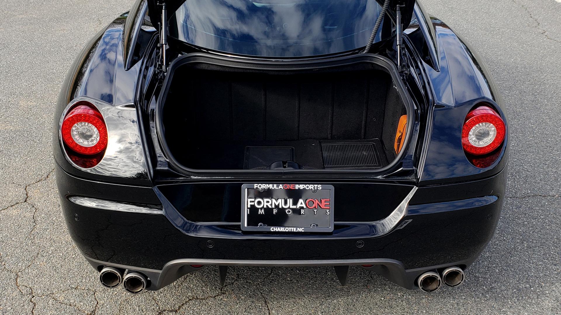 Used 2007 Ferrari 599 GTB FIORANO HGTE / V12 / F1 TRANS / NAV / BOSE / CUSTOM WHEELS for sale $109,999 at Formula Imports in Charlotte NC 28227 68