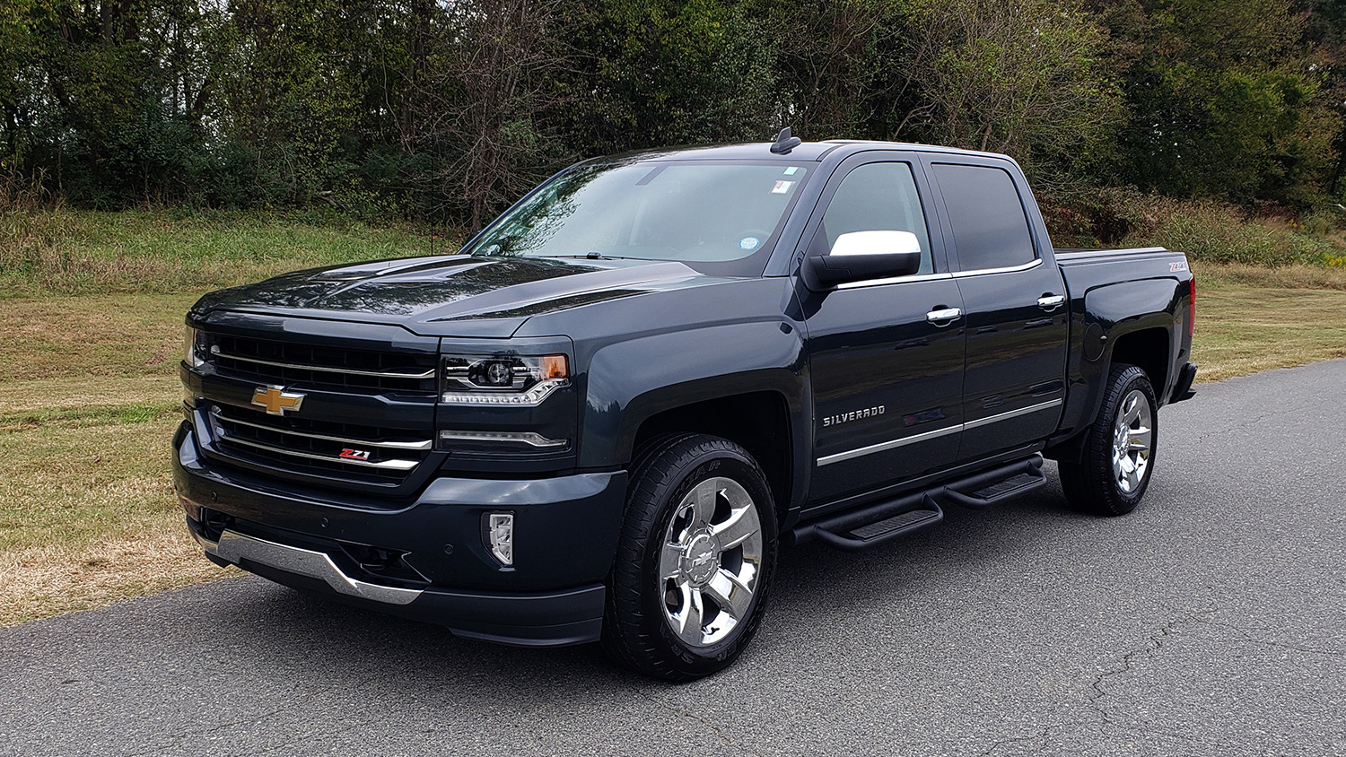 Used 2017 Chevrolet SILVERADO 1500 LTZ 4WD / NAV / BOSE / LEATHER / CAMERA / LOADED for sale Sold at Formula Imports in Charlotte NC 28227 100