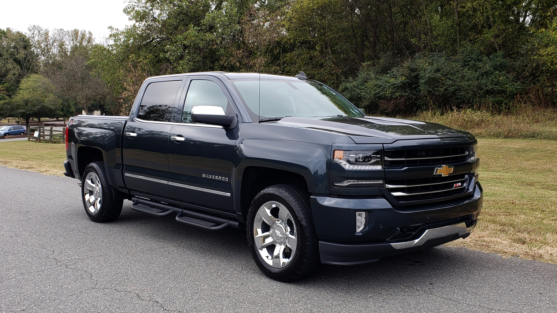 Used 2017 Chevrolet SILVERADO 1500 LTZ 4WD / NAV / BOSE / LEATHER / CAMERA / LOADED for sale Sold at Formula Imports in Charlotte NC 28227 27