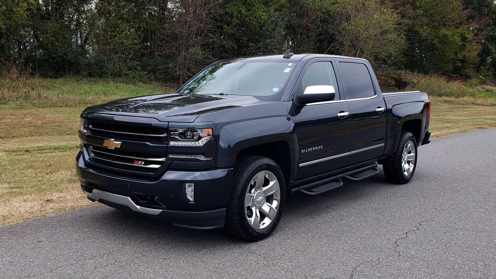Used 2017 Chevrolet SILVERADO 1500 LTZ 4WD / NAV / BOSE / LEATHER / CAMERA / LOADED for sale Sold at Formula Imports in Charlotte NC 28227 1