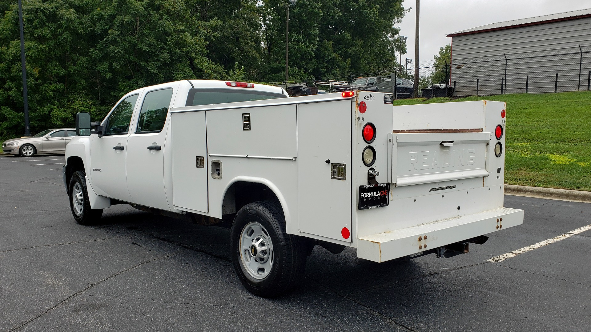 Used 2014 Chevrolet SILVERADO 2500HD WORK TRUCK 4WD / 6.0L V8 / AUTO / TOOL BOX / CLEAN for sale Sold at Formula Imports in Charlotte NC 28227 3