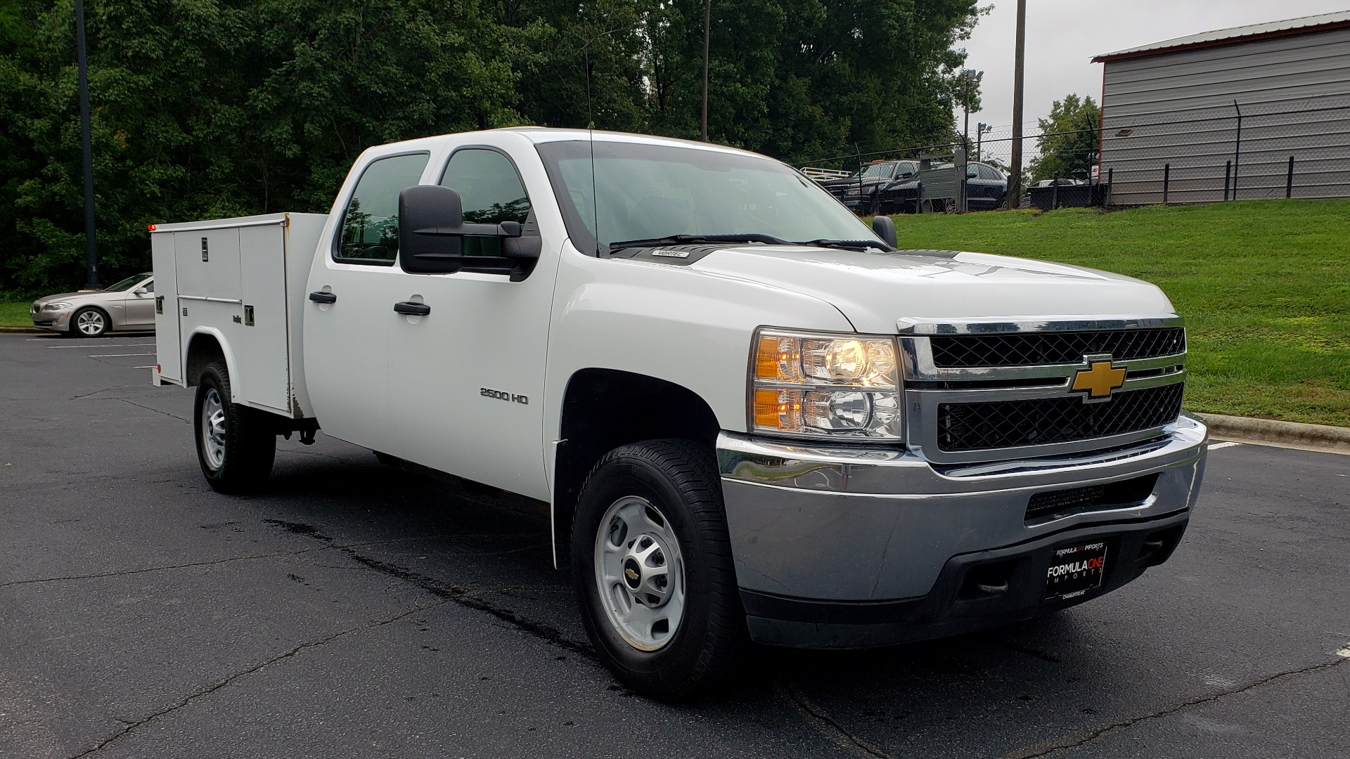 Used 2014 Chevrolet SILVERADO 2500HD WORK TRUCK 4WD / 6.0L V8 / AUTO / TOOL BOX / CLEAN for sale Sold at Formula Imports in Charlotte NC 28227 4