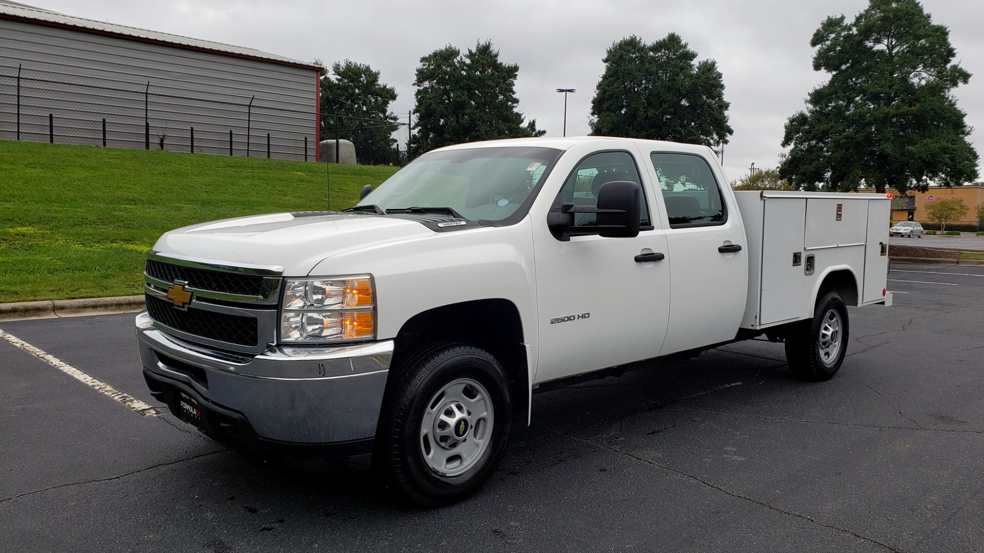 Used 2014 Chevrolet SILVERADO 2500HD WORK TRUCK 4WD / 6.0L V8 / AUTO / TOOL BOX / CLEAN for sale Sold at Formula Imports in Charlotte NC 28227 1