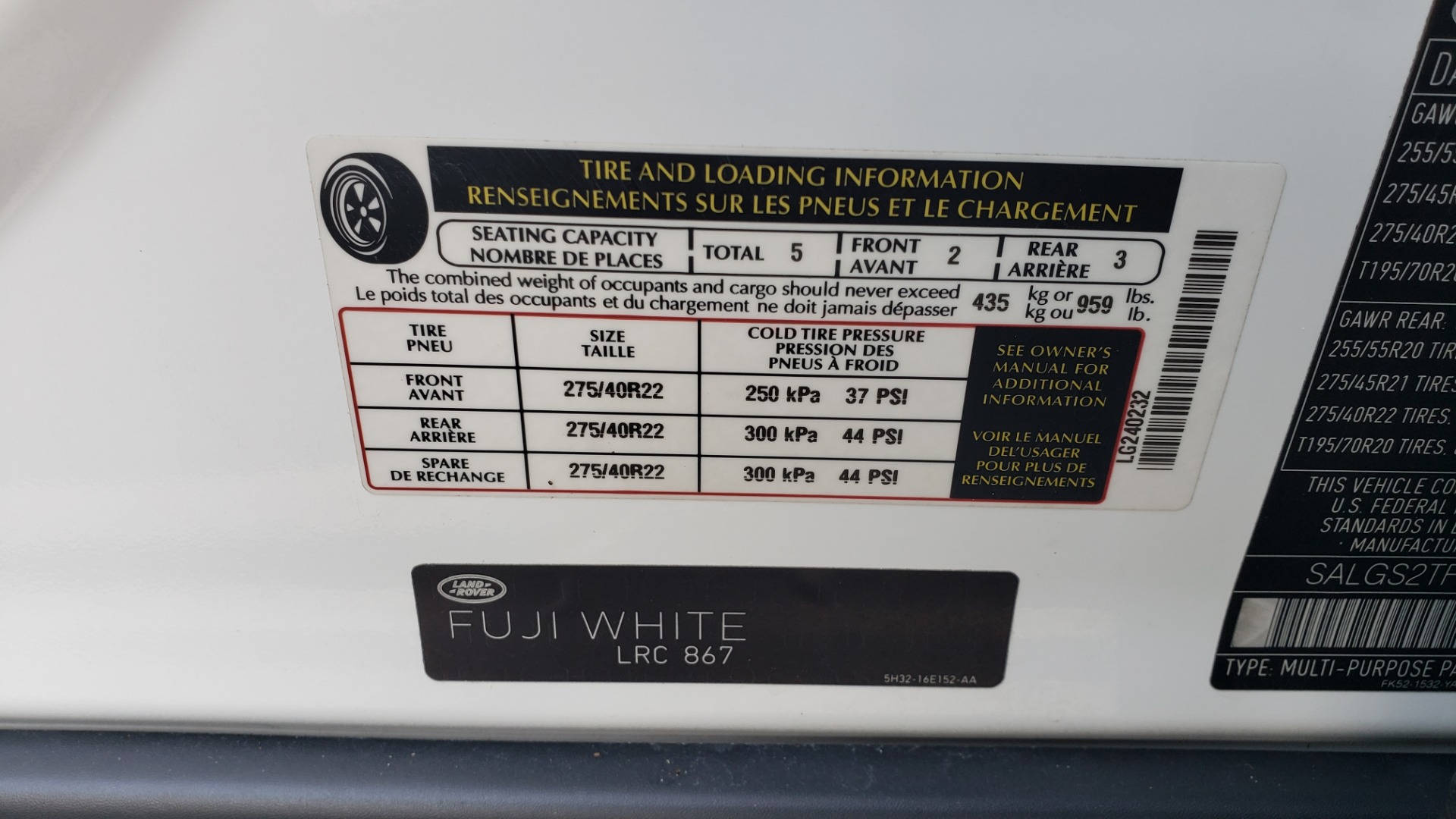 Used 2015 Land Rover Range Rover Supercharged for sale Sold at Formula Imports in Charlotte NC 28227 96