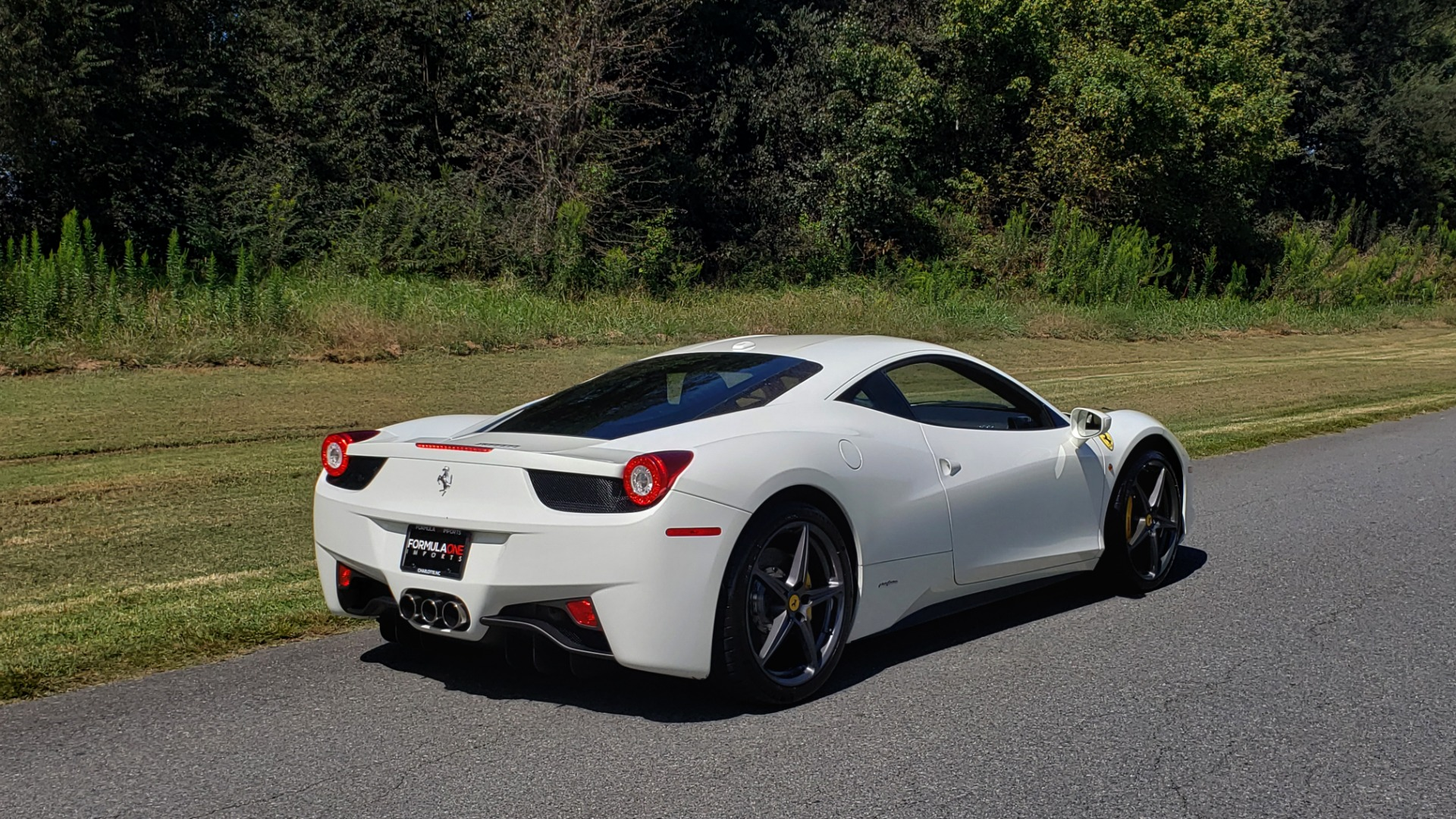 Used 2012 Ferrari 458 ITALIA COUPE / 4.5L V8 / 7-SPEED AUTO / LOW MILES SUPER CLEAN for sale $169,999 at Formula Imports in Charlotte NC 28227 12
