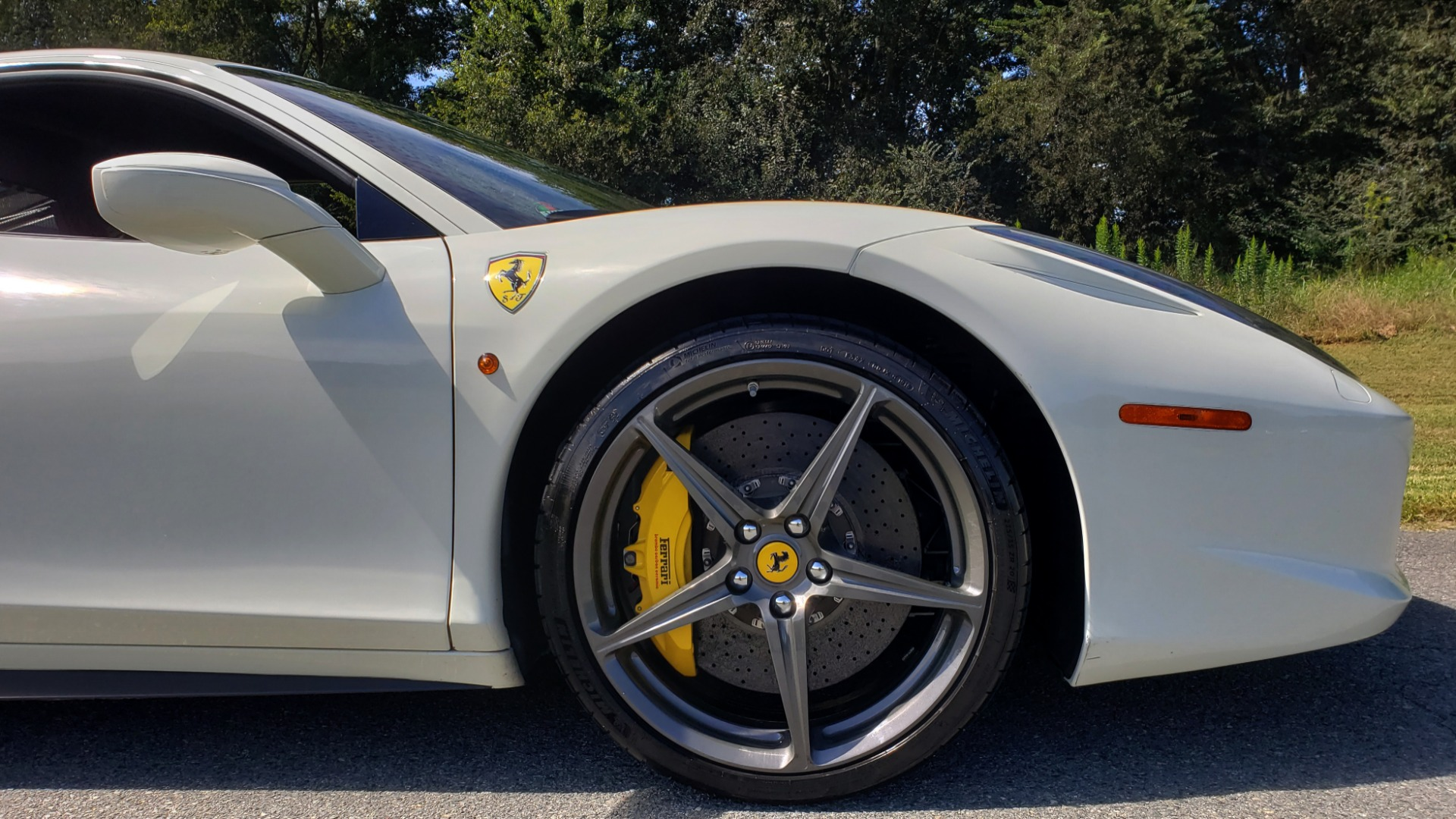 Used 2012 Ferrari 458 ITALIA COUPE / 4.5L V8 / 7-SPEED AUTO / LOW MILES SUPER CLEAN for sale Sold at Formula Imports in Charlotte NC 28227 30