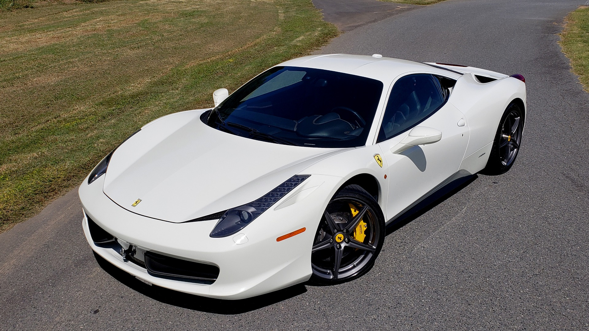 Used 2012 Ferrari 458 ITALIA COUPE / 4.5L V8 / 7-SPEED AUTO / LOW MILES SUPER CLEAN for sale $169,999 at Formula Imports in Charlotte NC 28227 6