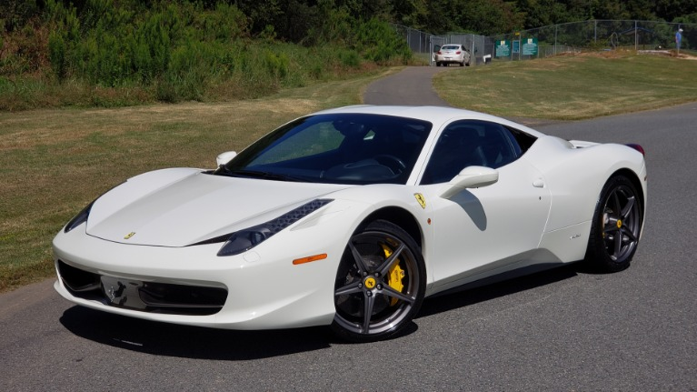 Used 2012 Ferrari 458 ITALIA COUPE / 4.5L V8 / 7-SPEED AUTO / LOW MILES SUPER CLEAN for sale $169,999 at Formula Imports in Charlotte NC