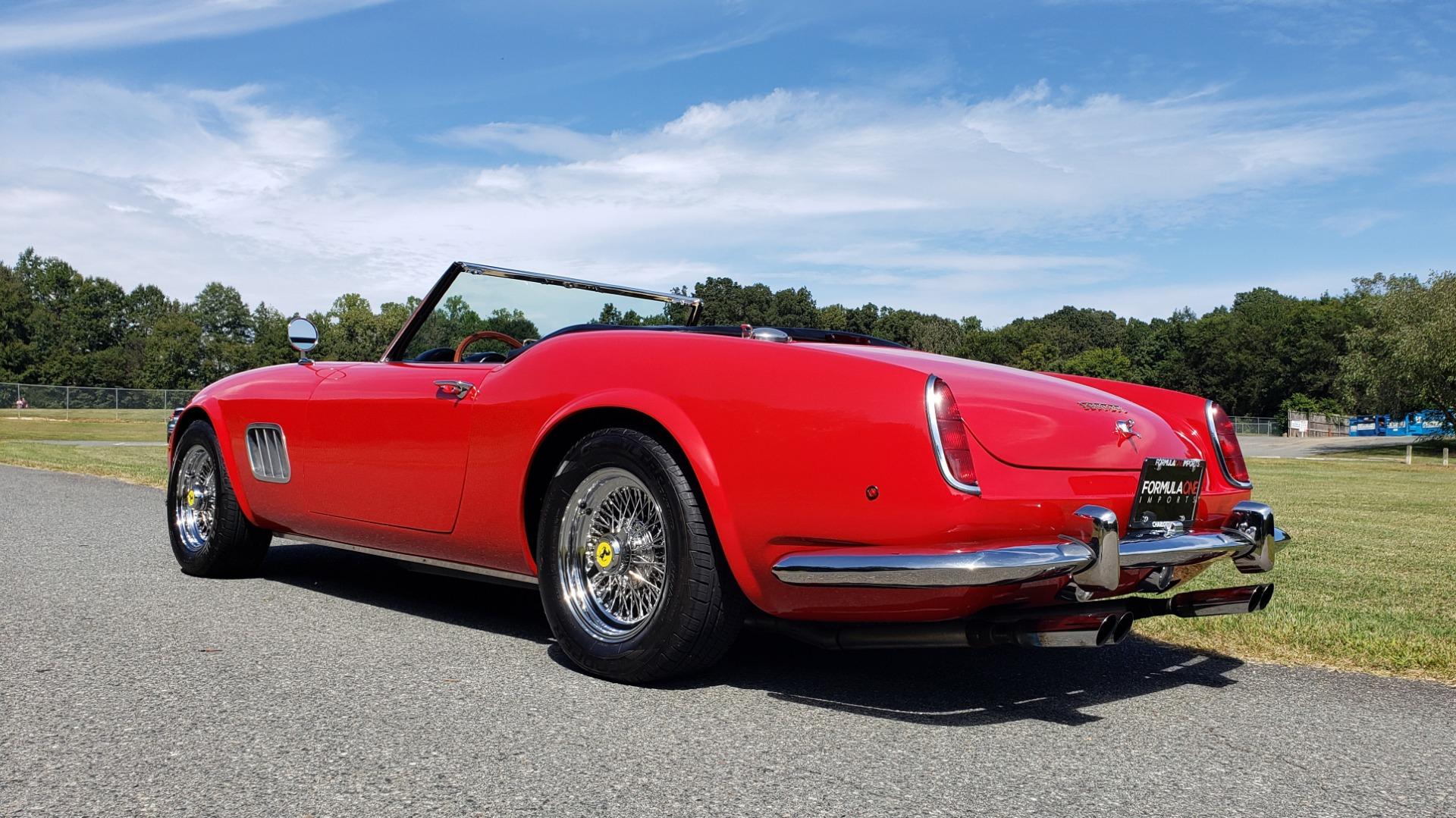 Used 1961 Ferrari 250GT SWB CALIFORNIA REPLICA / 302CI V8 / TREMEC 5-SPEED for sale Sold at Formula Imports in Charlotte NC 28227 12